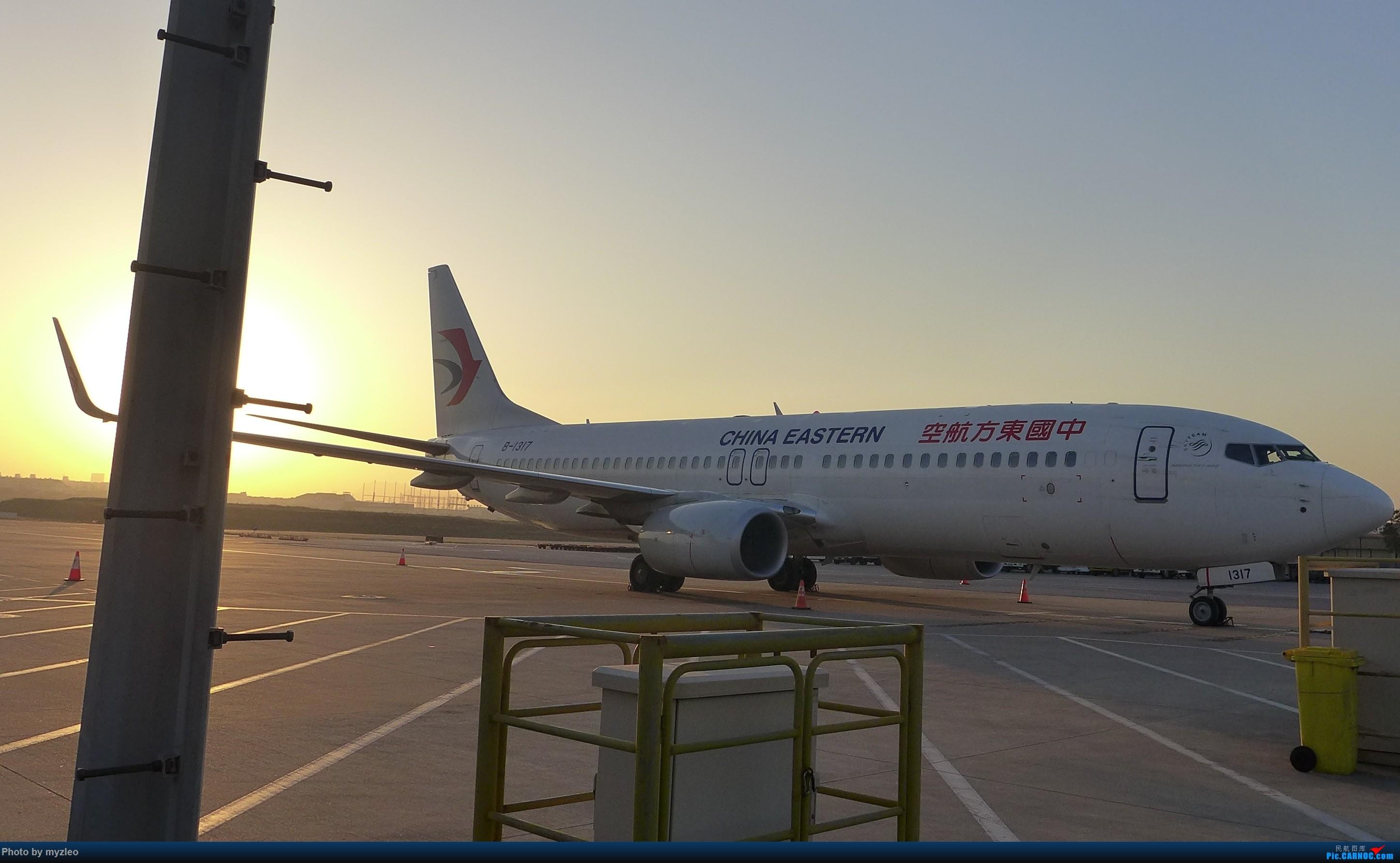 Re:[原创]【myzleo的游记1】六天五晚广州行——SHA-CAN上航商务舱初体验+广州城内 BOEING 737-800 B-1317 中国上海虹桥国际机场