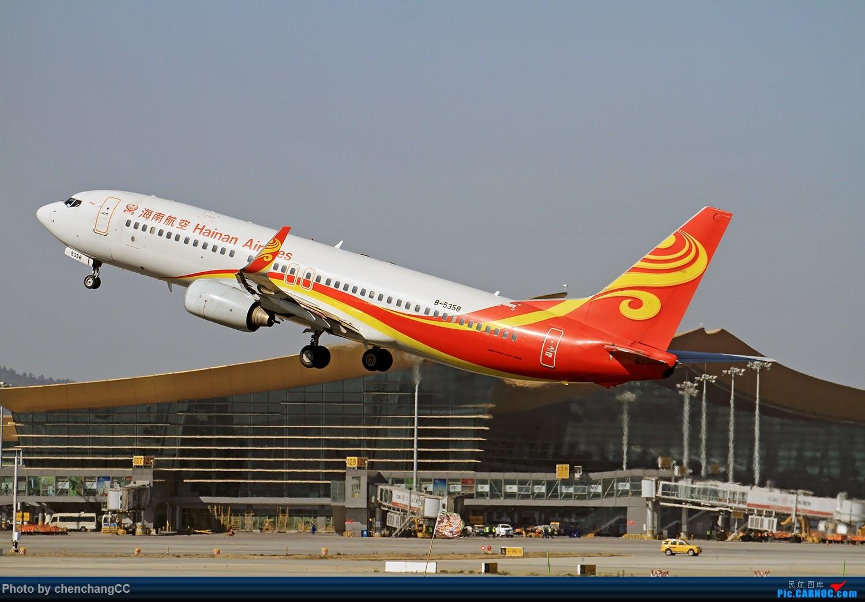 [原创]【shuttlesky】新年发组图,祝大家狗年快乐! BOEING 737-800 B-5358 中国昆明长水国际机场