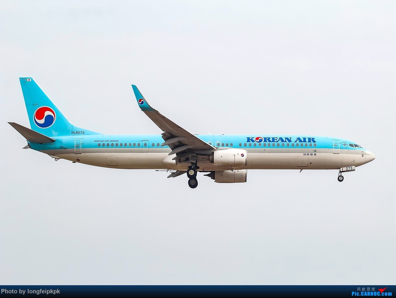 Re:[原创]【郑州飞友会】年初四CGO拍机 BOEING 737-900ER HL8273 中国郑州新郑国际机场
