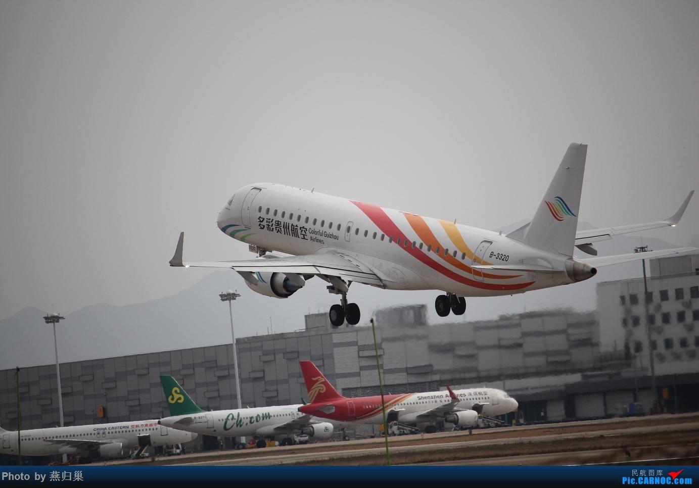 Re:[原创]【宁波飞友会】年前NGB拍机合集 EMBRAER E-190 B-3320 中国宁波栎社国际机场