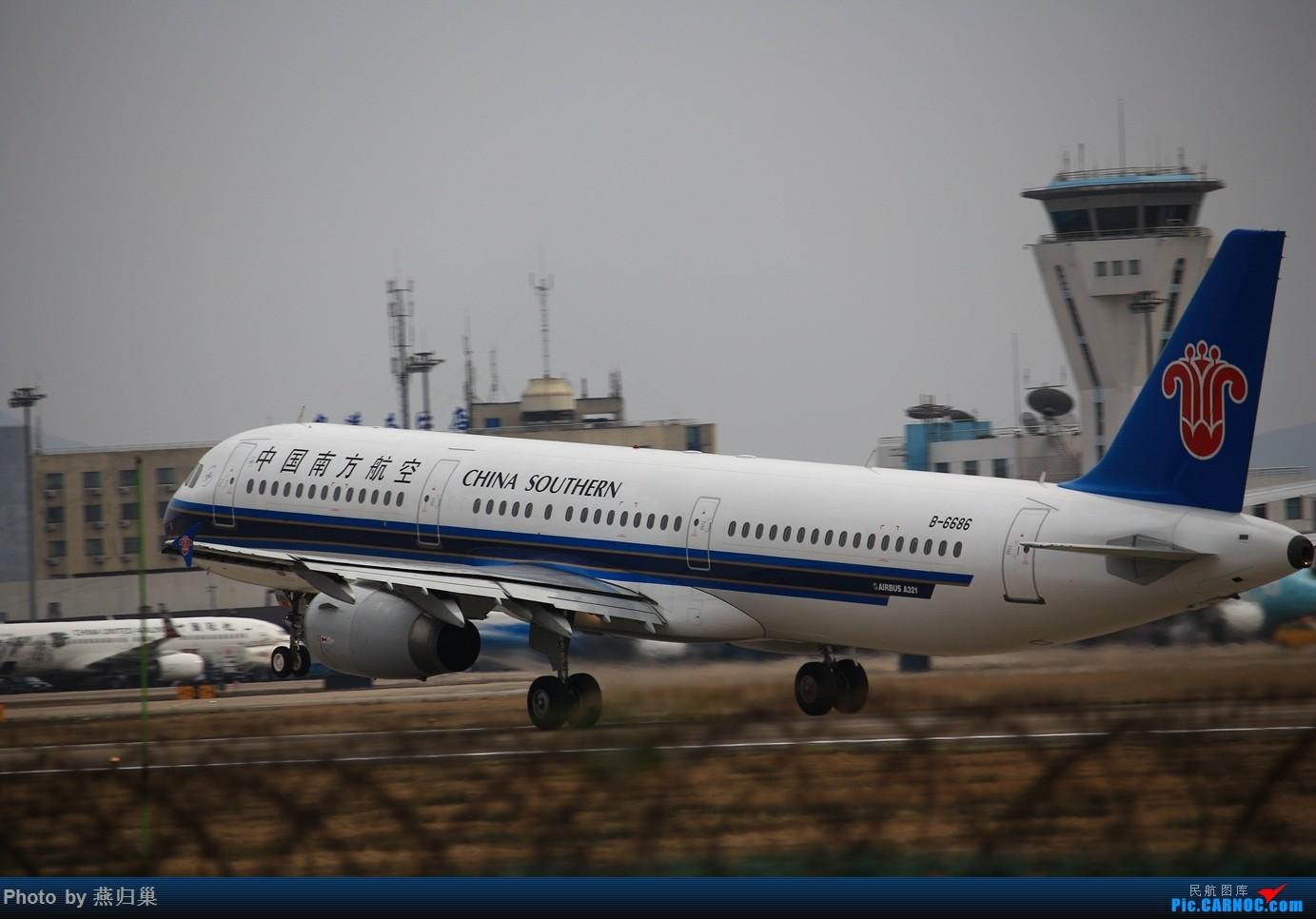 Re:[原创]【宁波飞友会】年前NGB拍机合集 AIRBUS A321-200 B-6686 中国宁波栎社国际机场