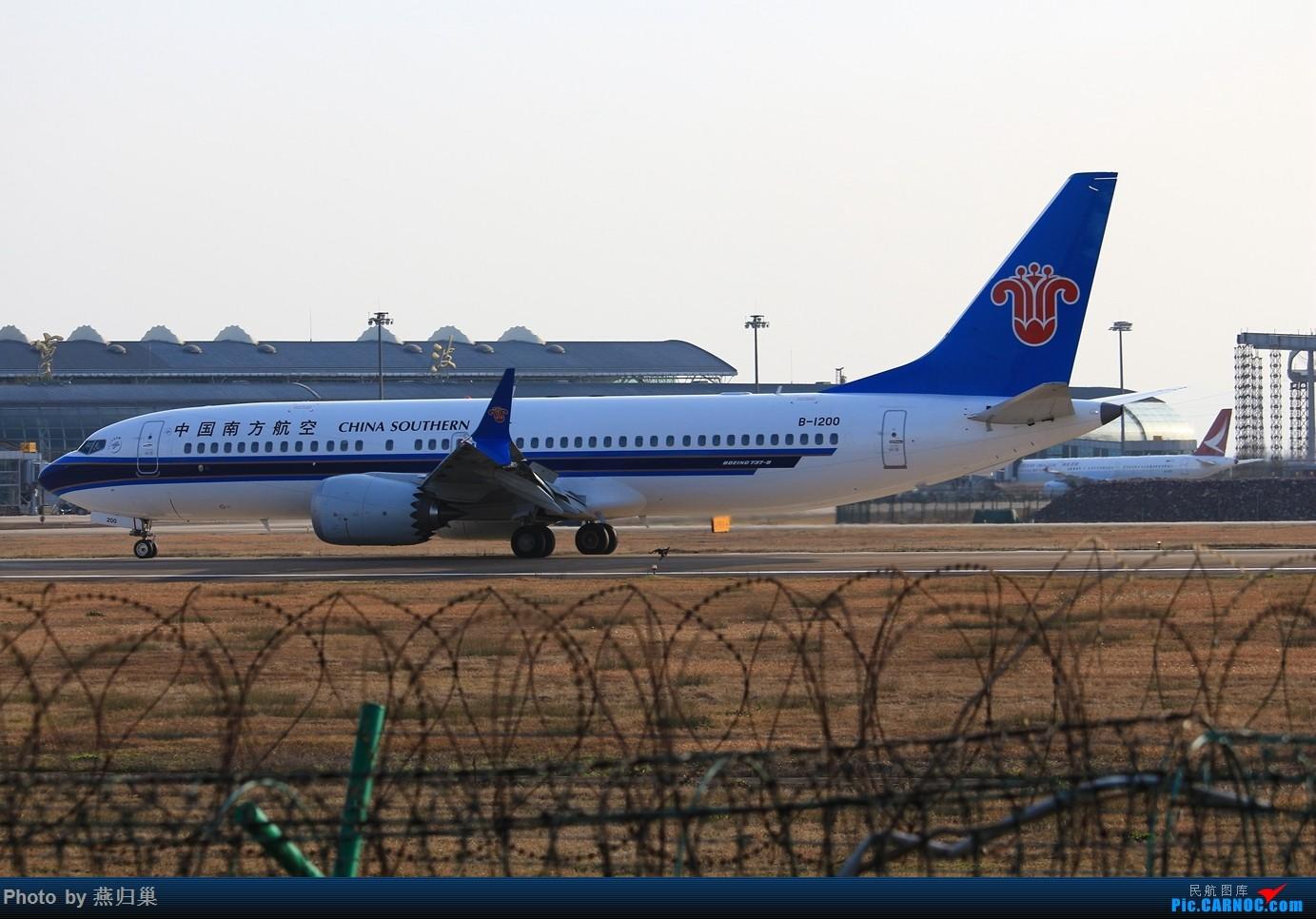Re:[原创]【宁波飞友会】年前NGB拍机合集 BOEING 737MAX-8 B-1200 中国宁波栎社国际机场