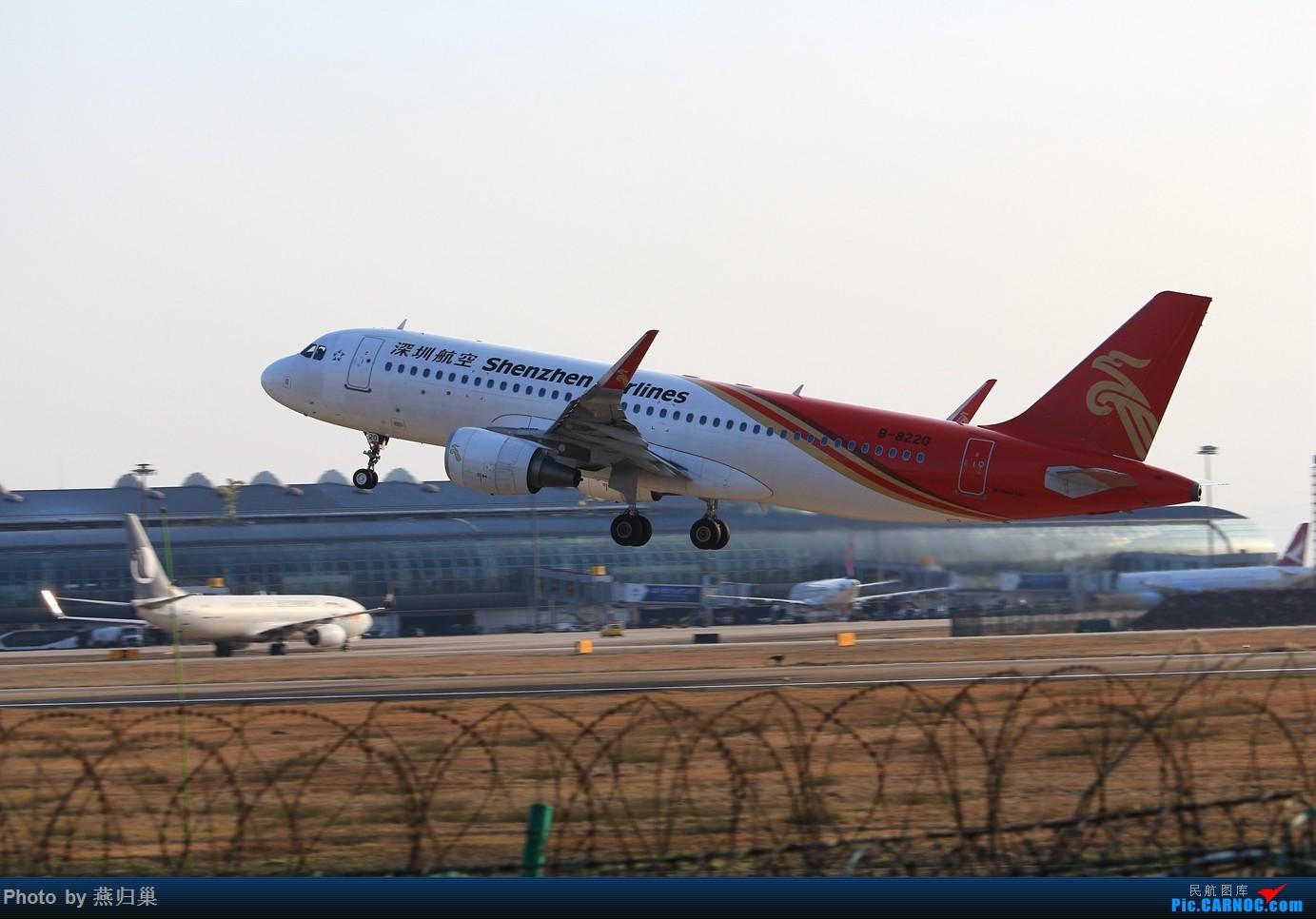 Re:[原创]【宁波飞友会】年前NGB拍机合集 AIRBUS A320-200 B-8220 中国宁波栎社国际机场