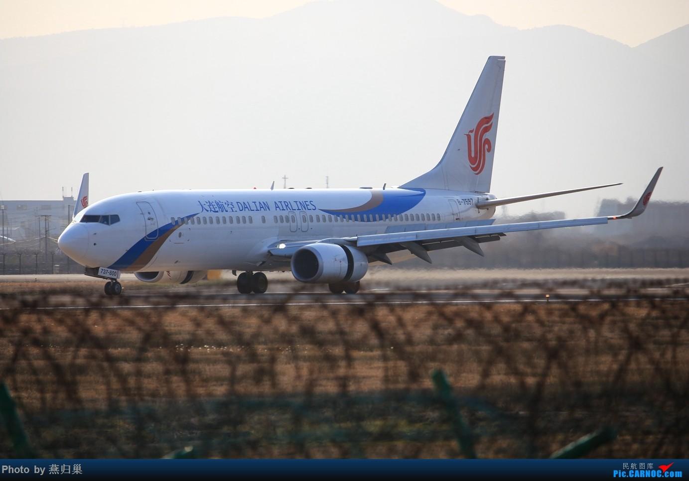Re:[原创]【宁波飞友会】年前NGB拍机合集 BOEING 737-800 B-7597 中国宁波栎社国际机场