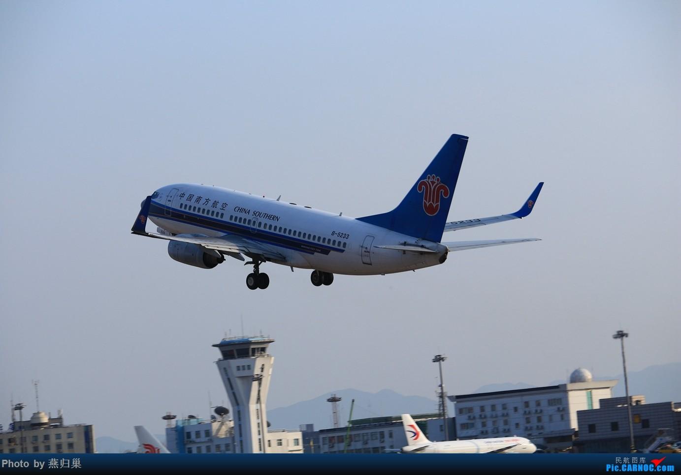 Re:[原创]【宁波飞友会】年前NGB拍机合集 BOEING 737-700 B-5233 中国宁波栎社国际机场