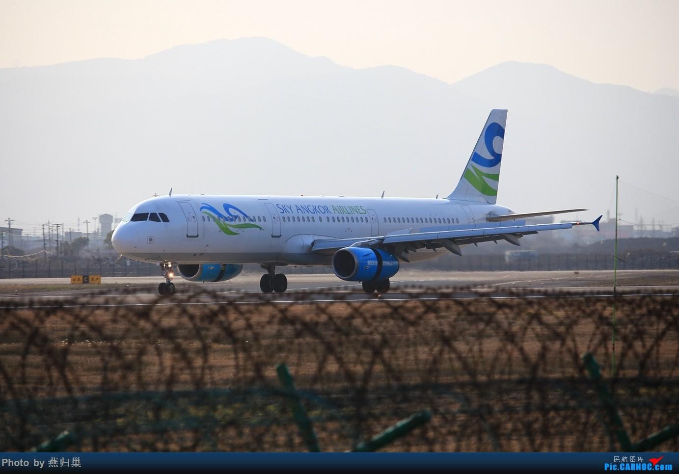 Re:[原创]【宁波飞友会】年前NGB拍机合集 AIRBUS A321-200 XU-707 中国宁波栎社国际机场