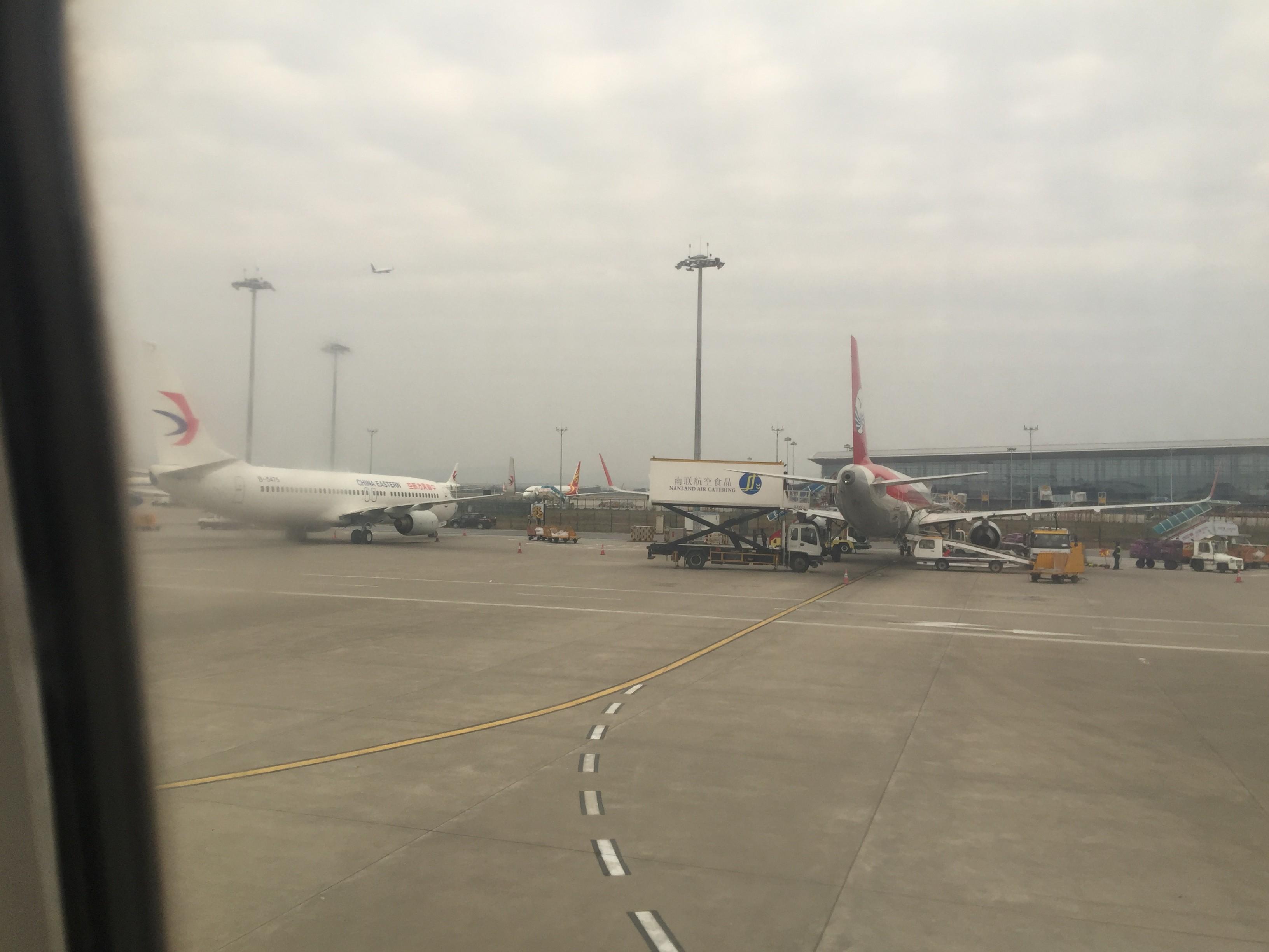 Re:[原创]「BoKer的飞行游记」新人首次发帖 中国东方航空 广州-台州 BOEING 737-800 B-5475 中国广州白云国际机场