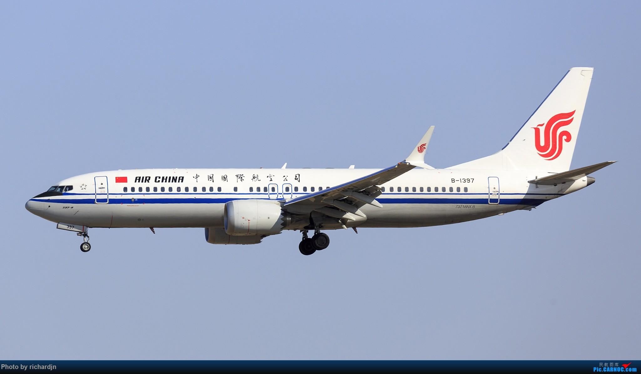 [原创]新年第一撸~哈哈 BOEING 737MAX-8 B-1397 中国北京首都国际机场