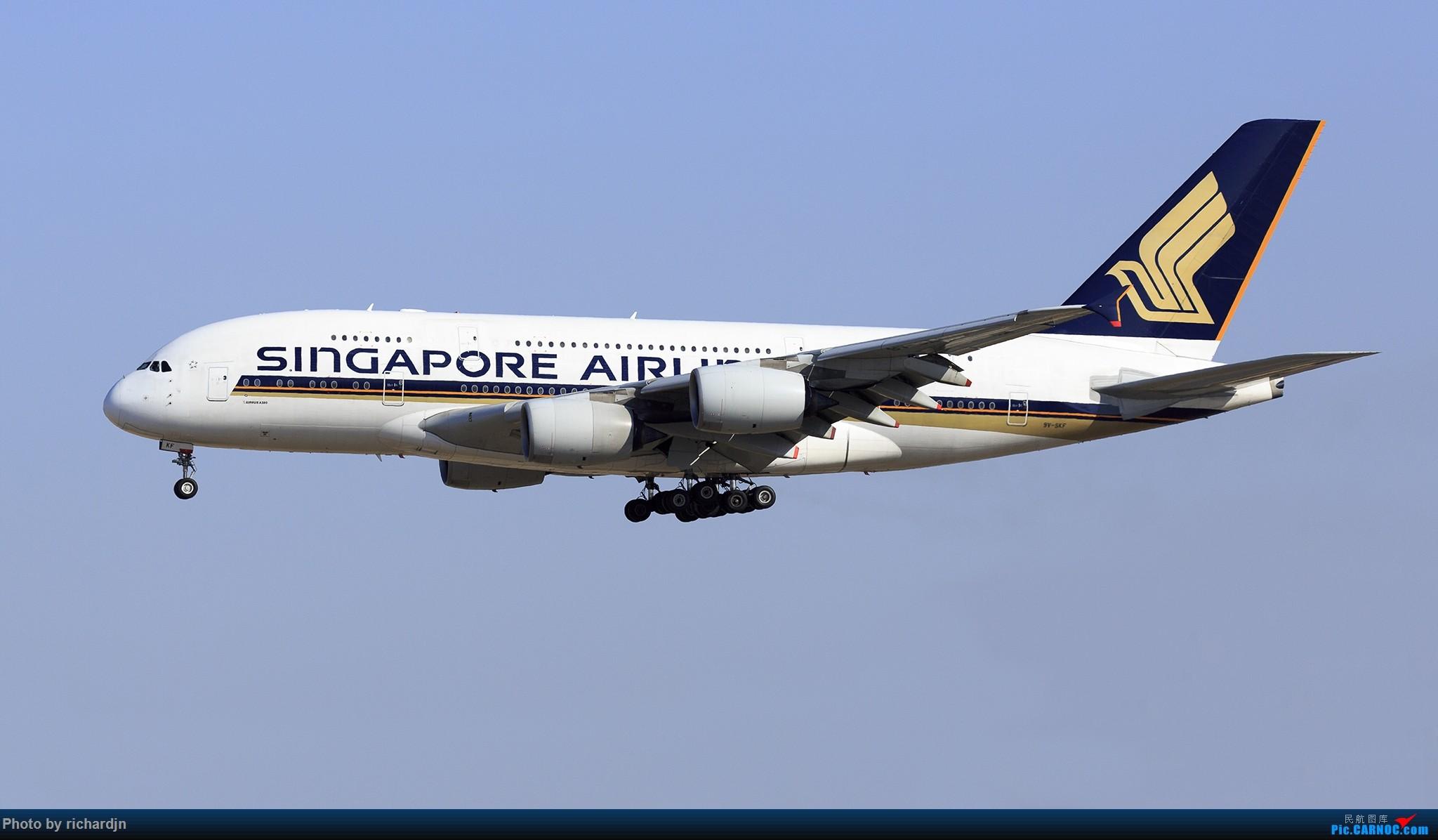 Re:[原创]新年第一撸~哈哈 AIRBUS A380 9V-SKF 中国北京首都国际机场