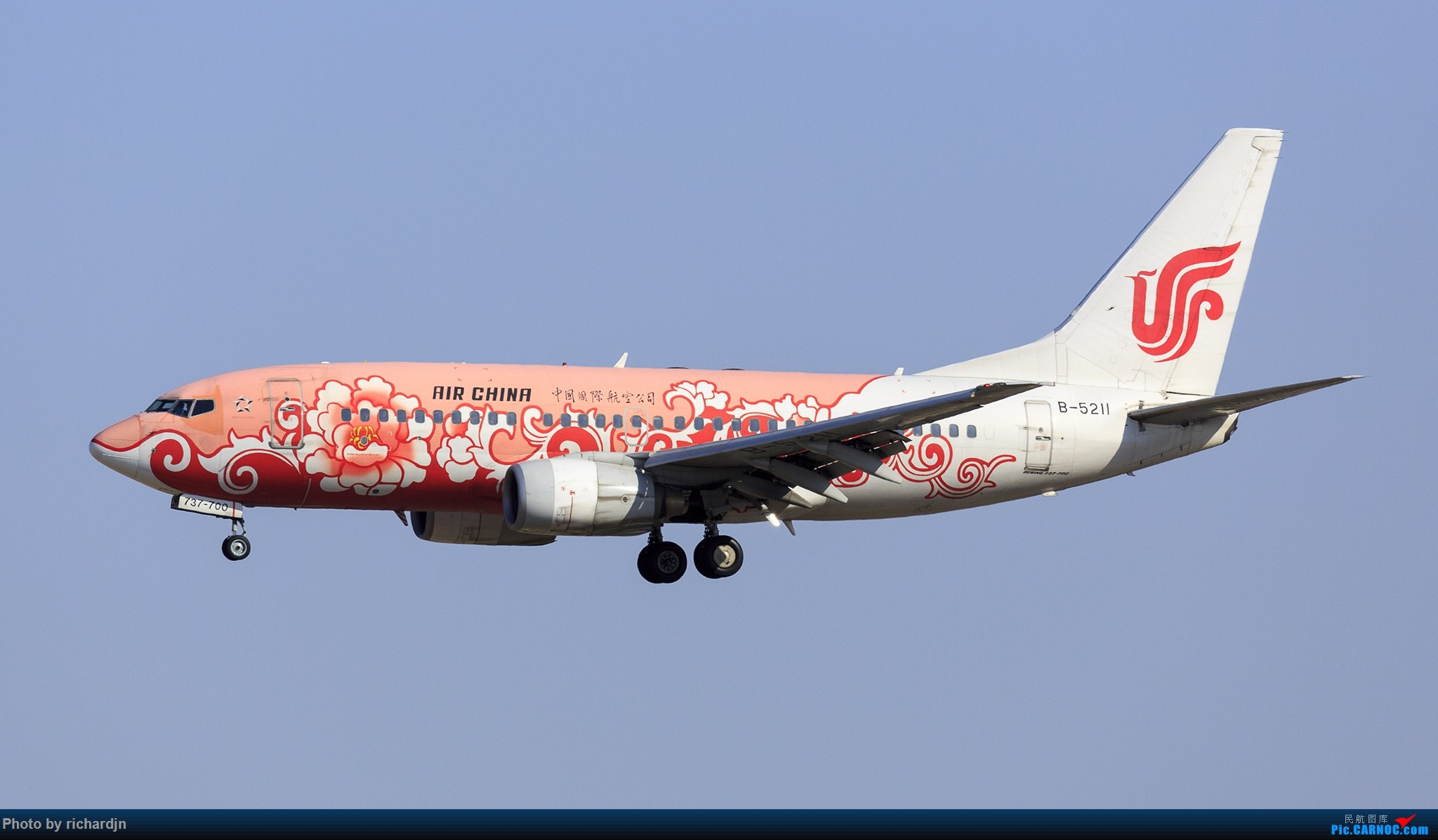 Re:[原创]新年第一撸~哈哈 BOEING 737-700 B-5211 中国北京首都国际机场