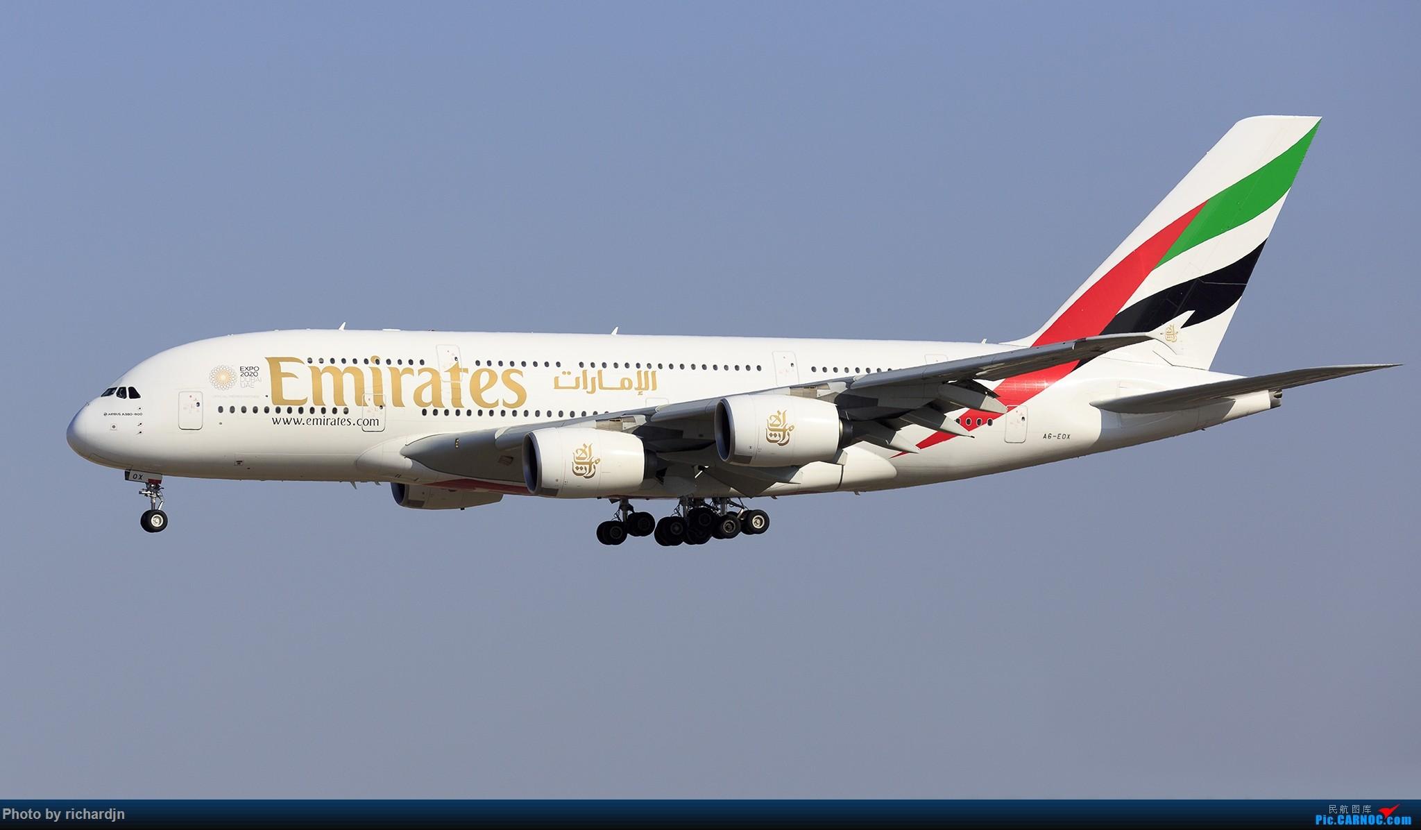 Re:[原创]新年第一撸~哈哈 AIRBUS A380 A6-EOX 中国北京首都国际机场
