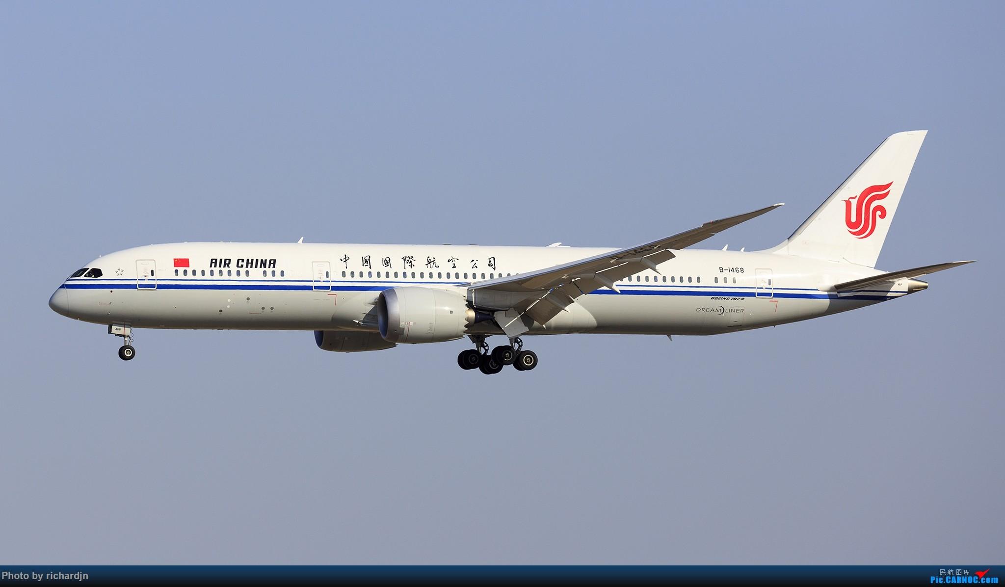 Re:[原创]新年第一撸~哈哈 BOEING 787-9 B-1468 中国北京首都国际机场