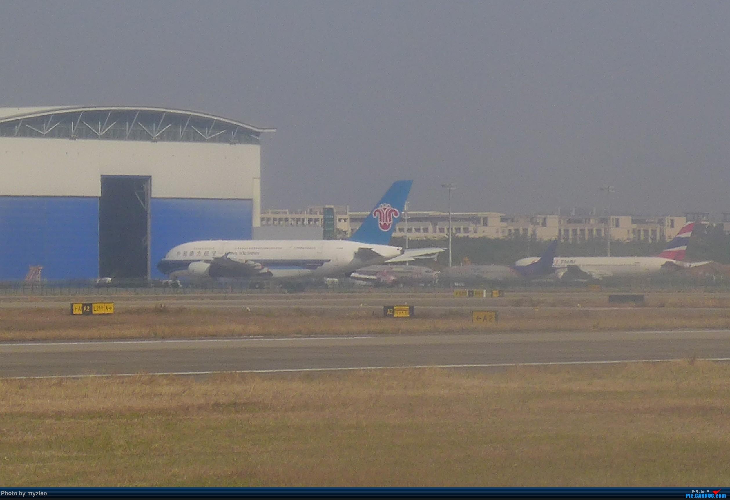 Re:[原创]【myzleo的游记1】六天五晚广州行——SHA-CAN上航商务舱初体验+广州城内 AIRBUS A380-800  中国广州白云国际机场