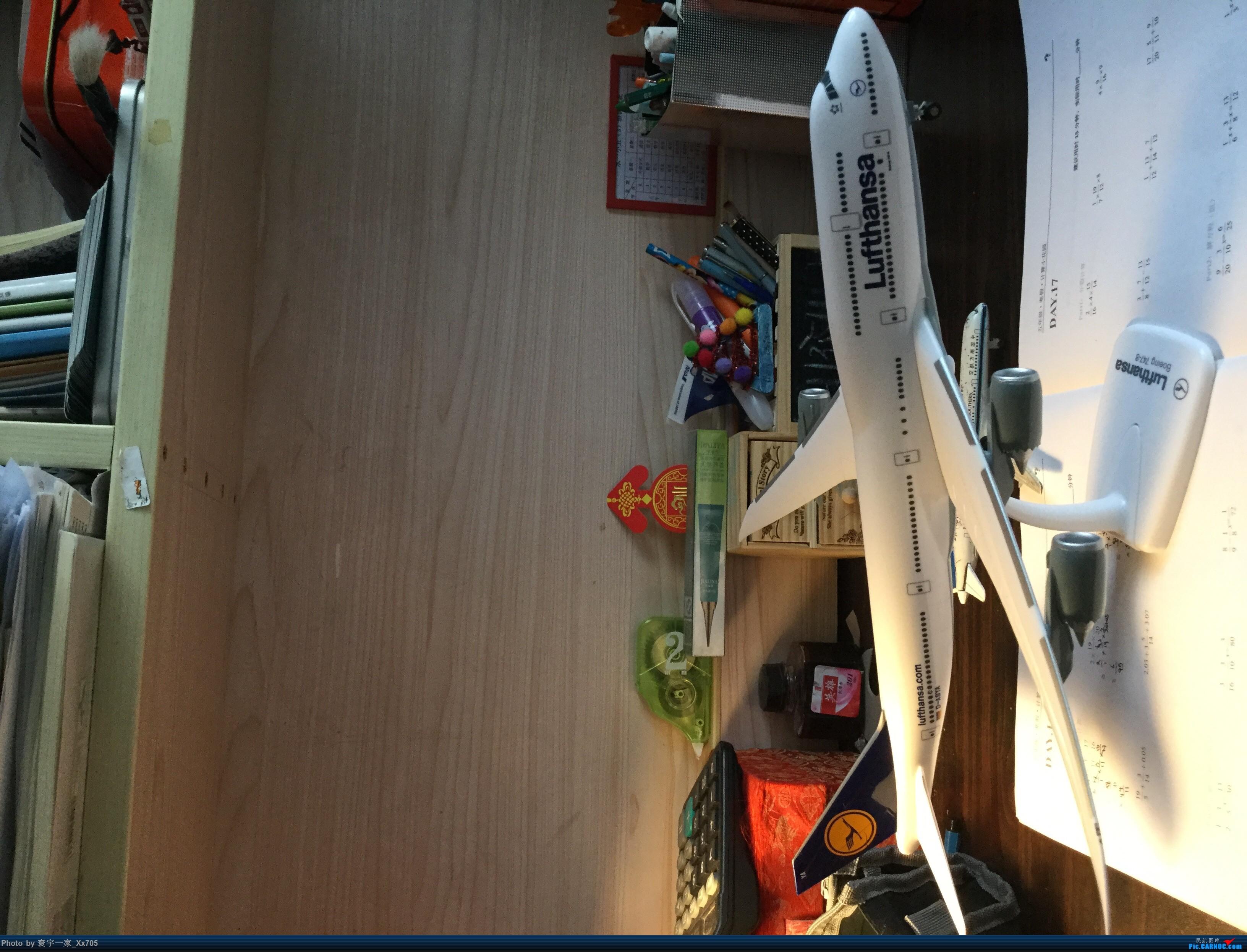 汉莎大鹅模型 BOEING 747-8I D-ABYA My Home