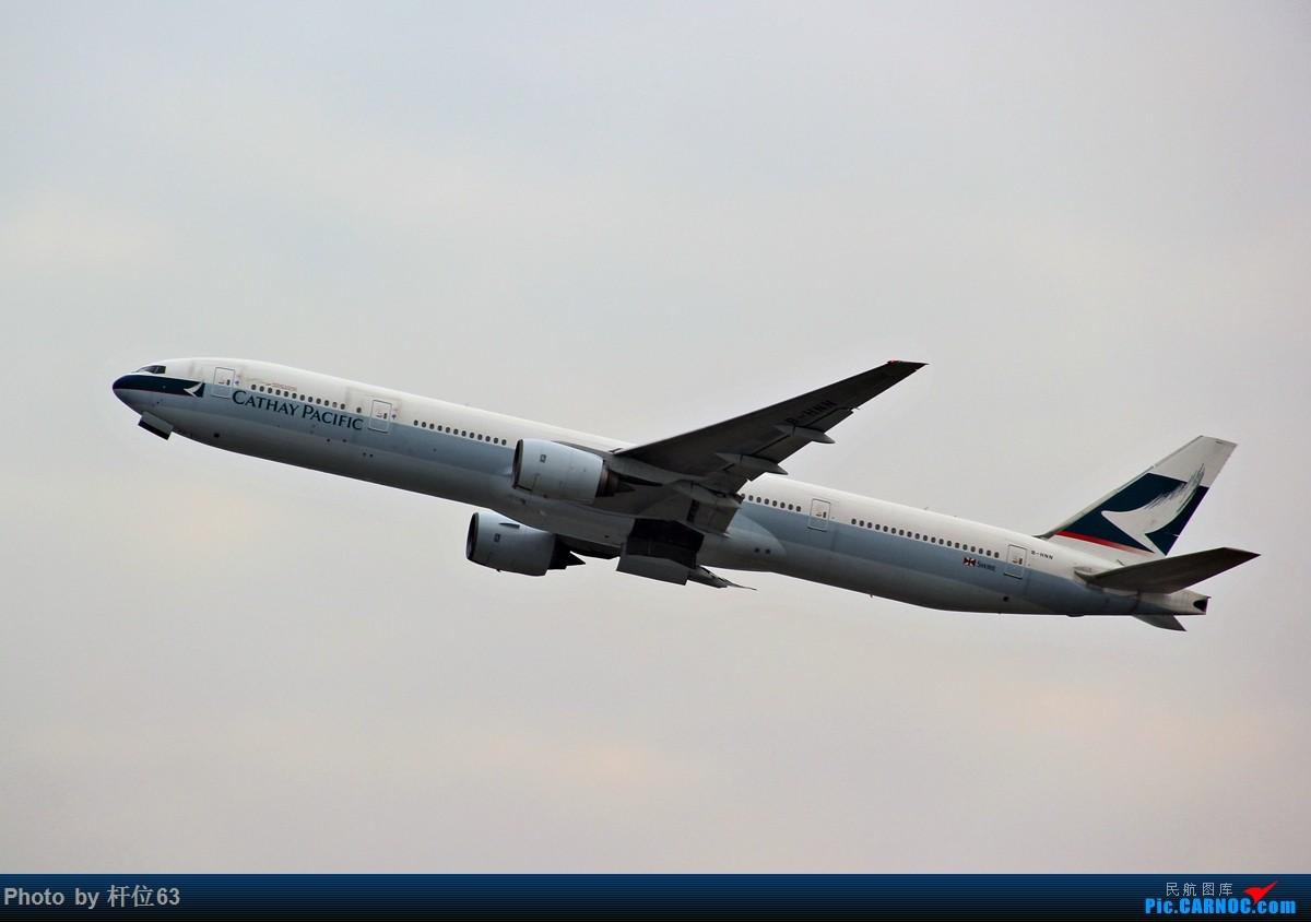 [原创]第一次拍飞机 BOEING 777-300 B-HNN 中国香港国际机场