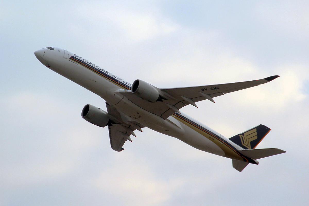 Re:[原创]第一次拍飞机 AIRBUS A350-900 9V-SMK 中国香港国际机场