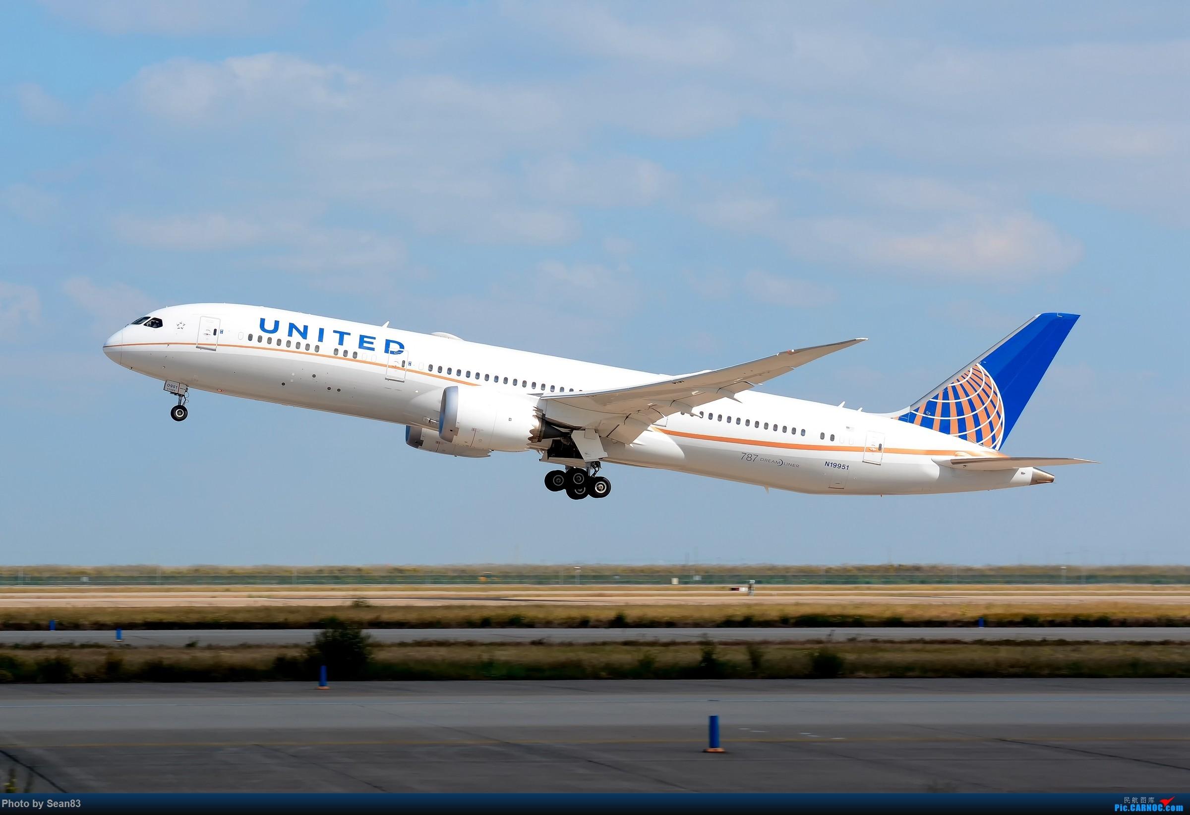 [原创](PVG)UA BOEING 787-9 N19951 中国上海浦东国际机场