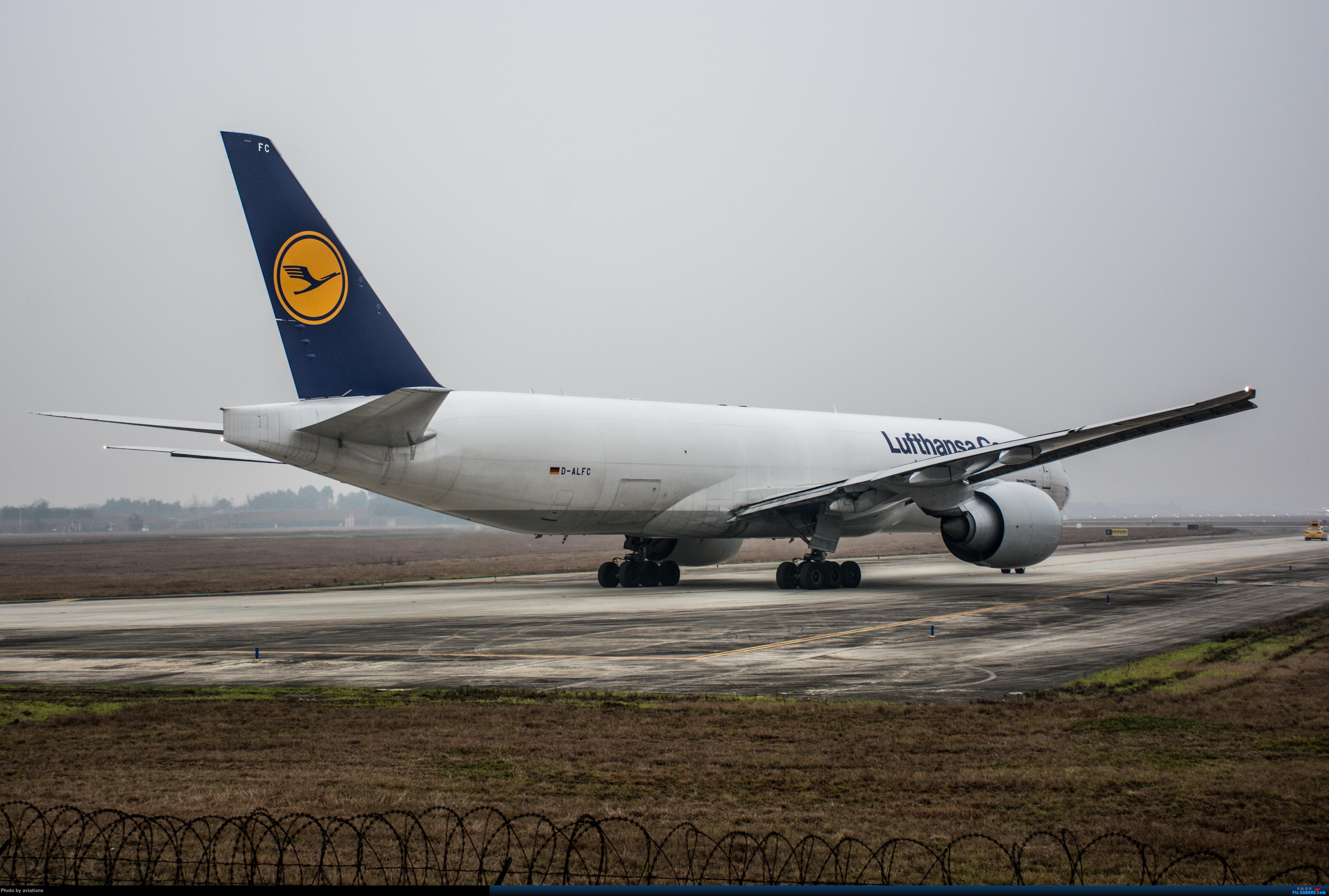 Re:【CTU新航线】D-ALFC汉莎货运77L BOEING 777-200LRF D-ALFC 中国成都双流国际机场