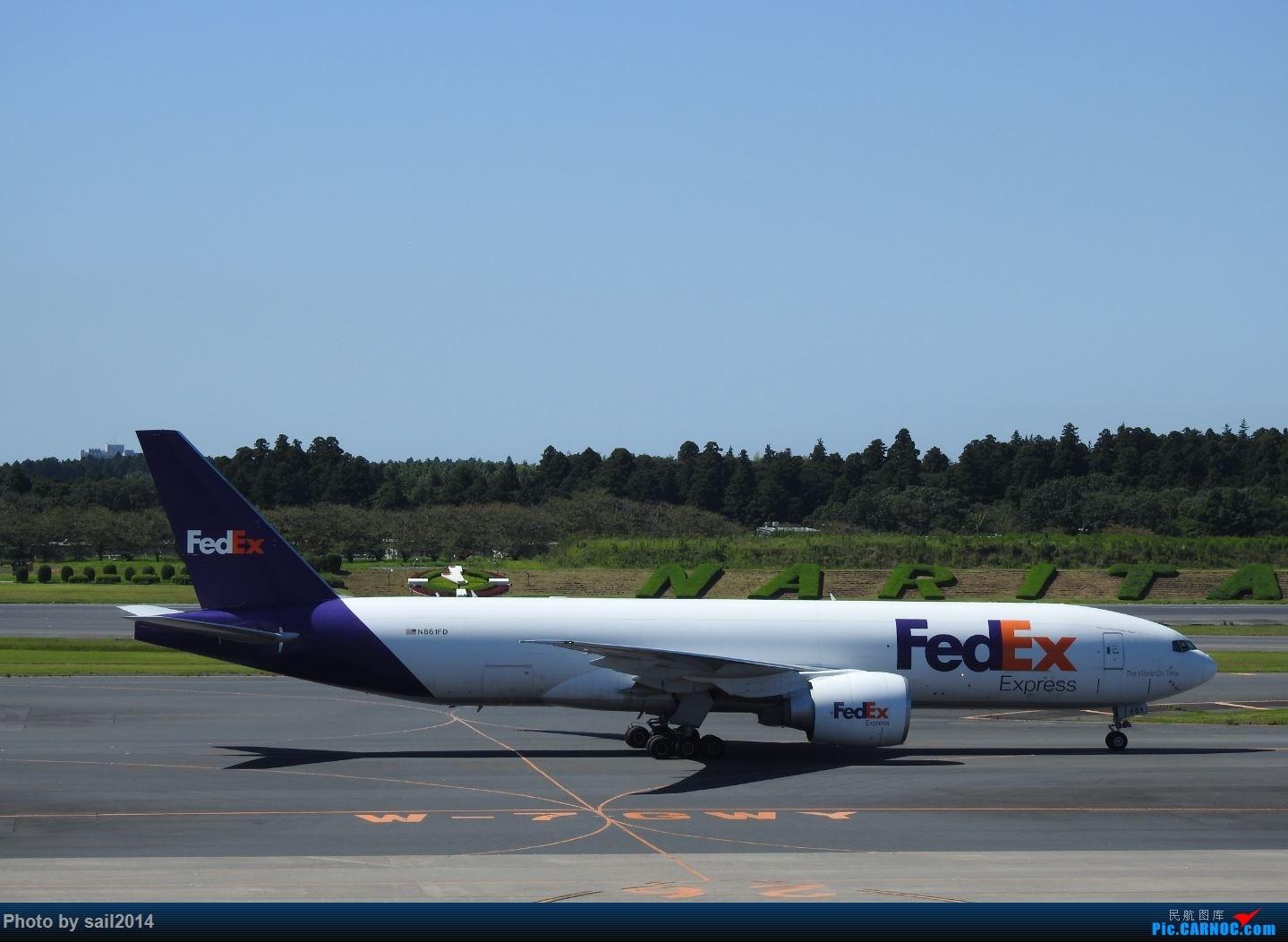 Re:[原创]补发九月末成田拍机 777-FS2 N861FD 成田国际机场