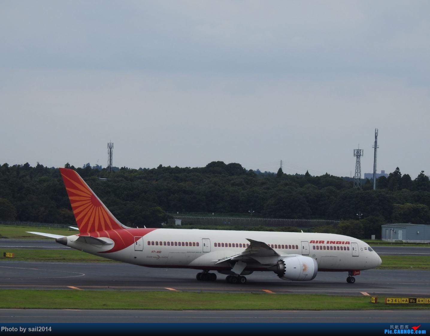 Re:[原创]补发九月末成田拍机 BOEING 787-8 VT-AND 成田国际机场