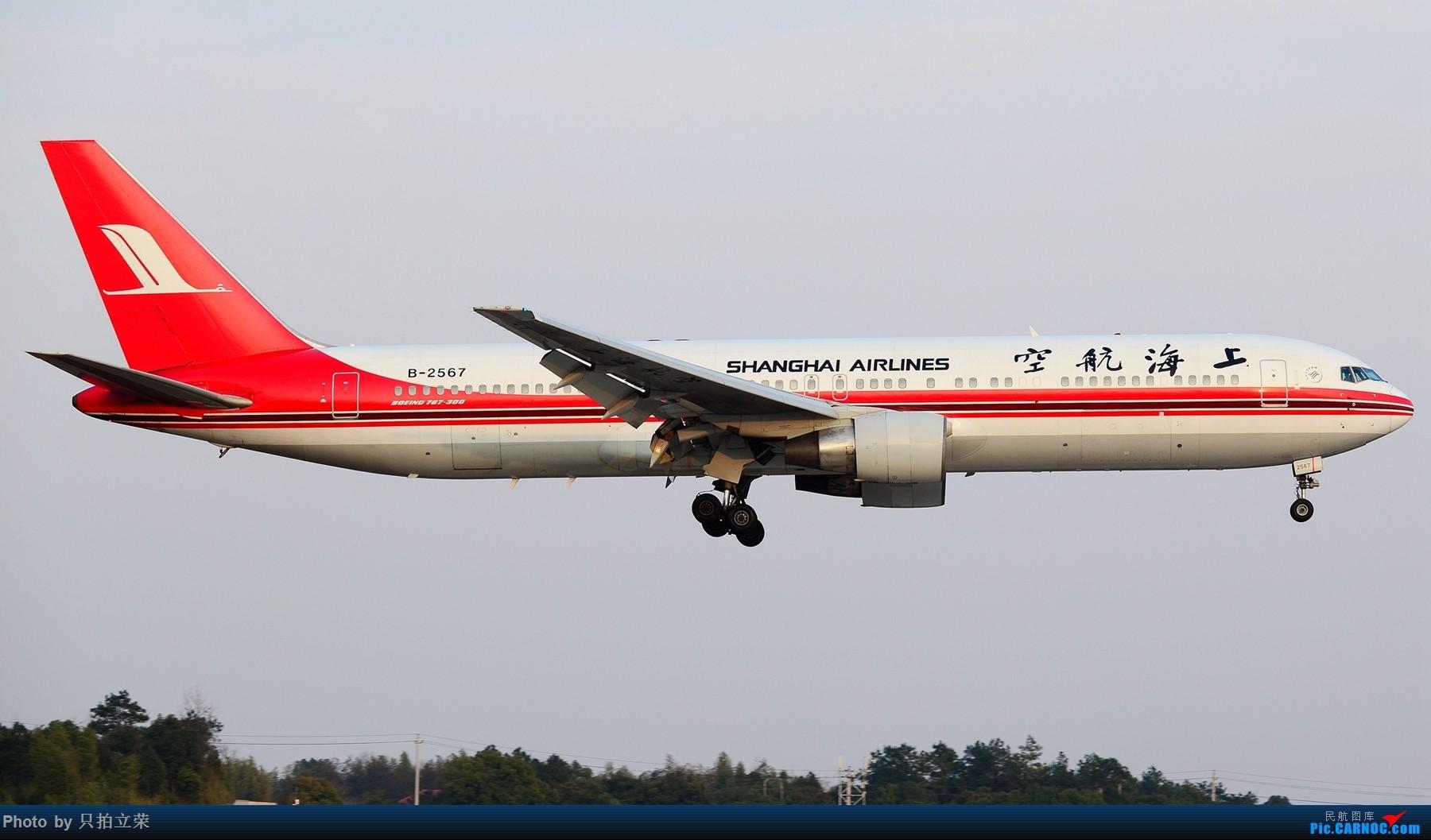 Re:[原创]湖南飞友会:终于等到你,上航767! BOEING 767-300 B-2567 中国长沙黄花国际机场