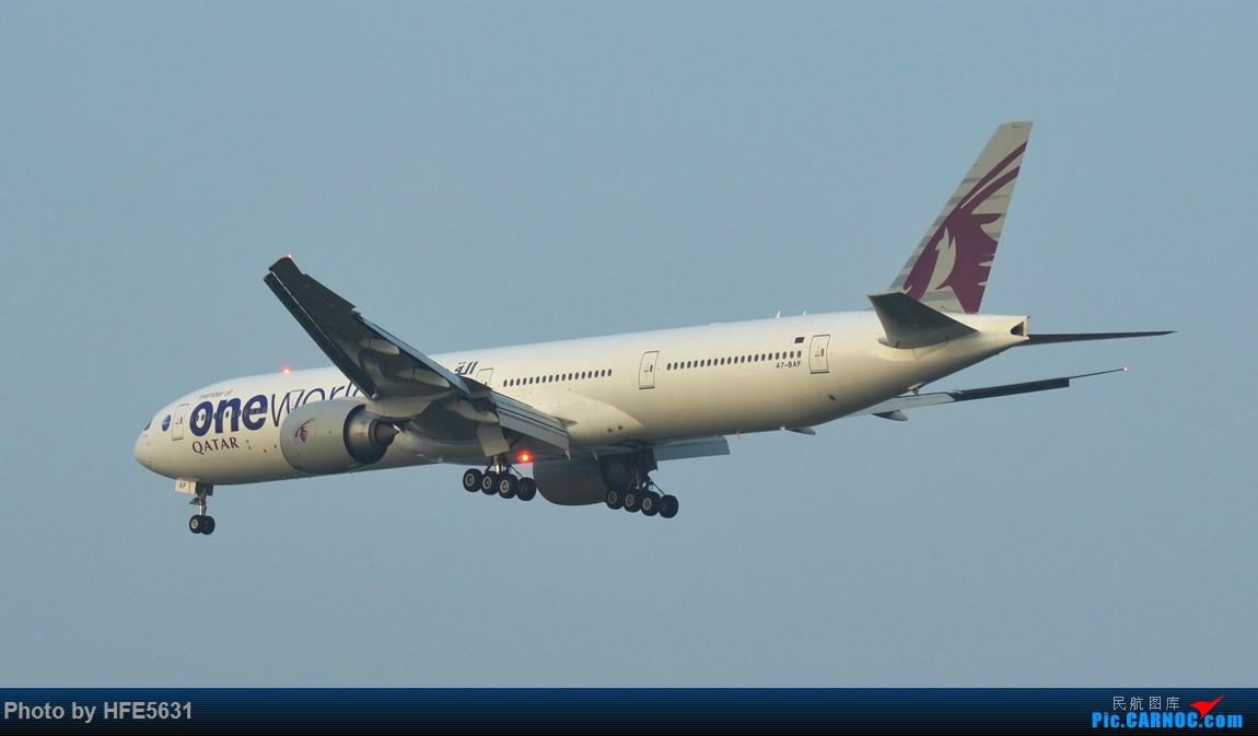 Re:[原创]【合肥飞友会】杂图一组,快两年没冒泡了,出来刷一下存在感 BOEING 777-300ER A7-BAF 中国上海浦东国际机场