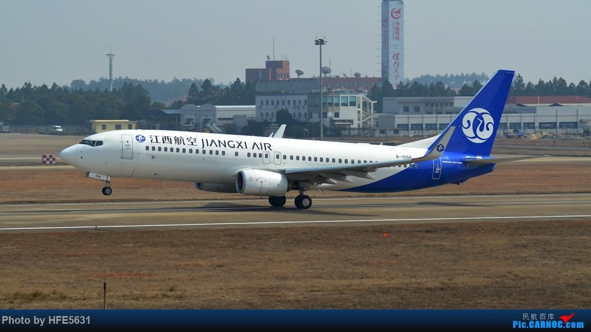 Re:[原创]【合肥飞友会】杂图一组,快两年没冒泡了,出来刷一下存在感 BOEING 737-800 B-1558 中国南昌昌北国际机场