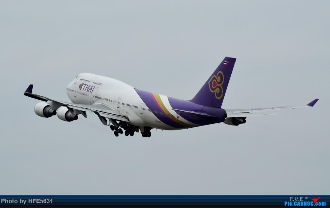 Re:[原创]【合肥飞友会】杂图一组,快两年没冒泡了,出来刷一下存在感 BOEING 747-400 HS-TGZ 中国广州白云国际机场