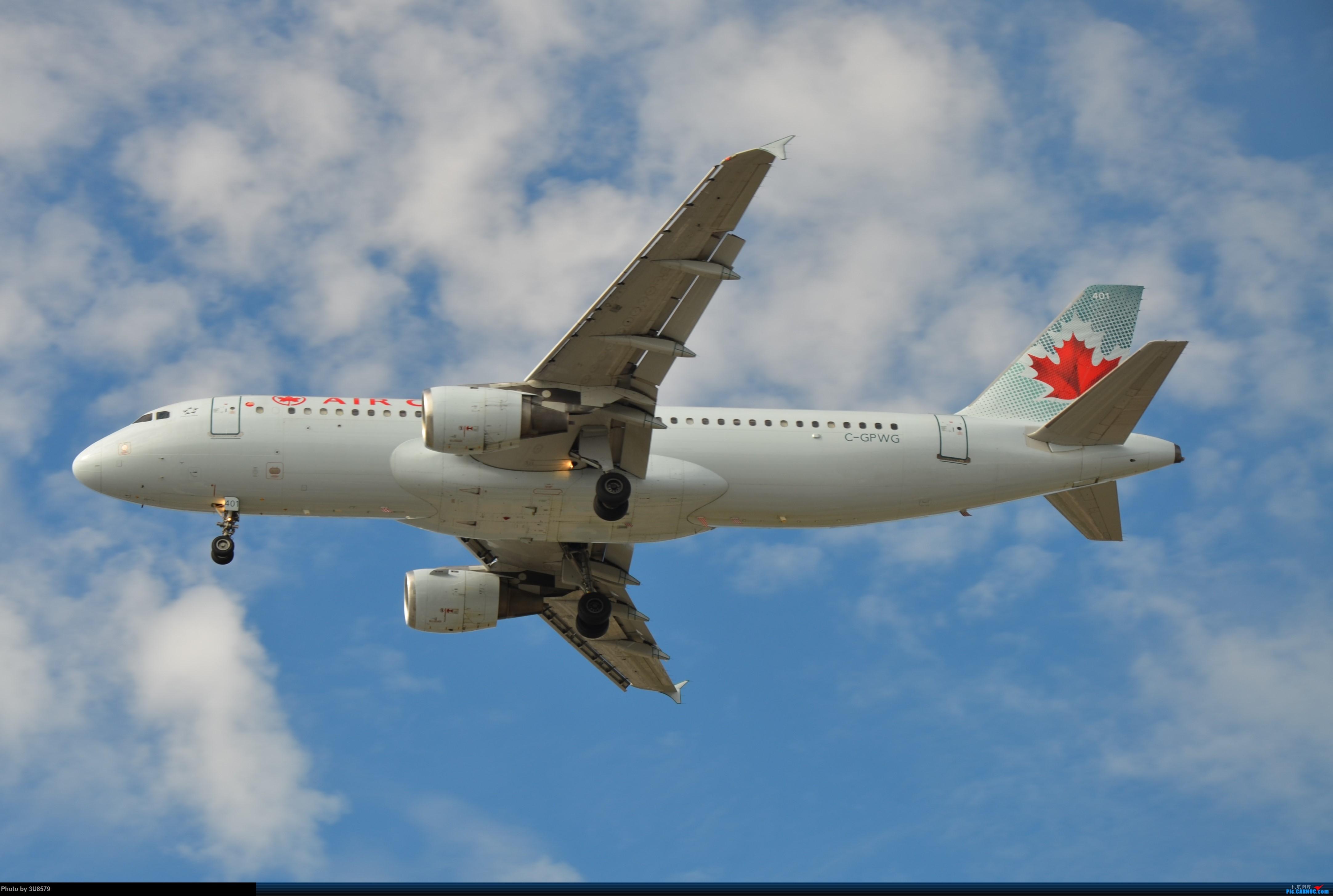 [原创]YVR温哥华拍机 AIRBUS A319 C-GPWG 加拿大温哥华机场