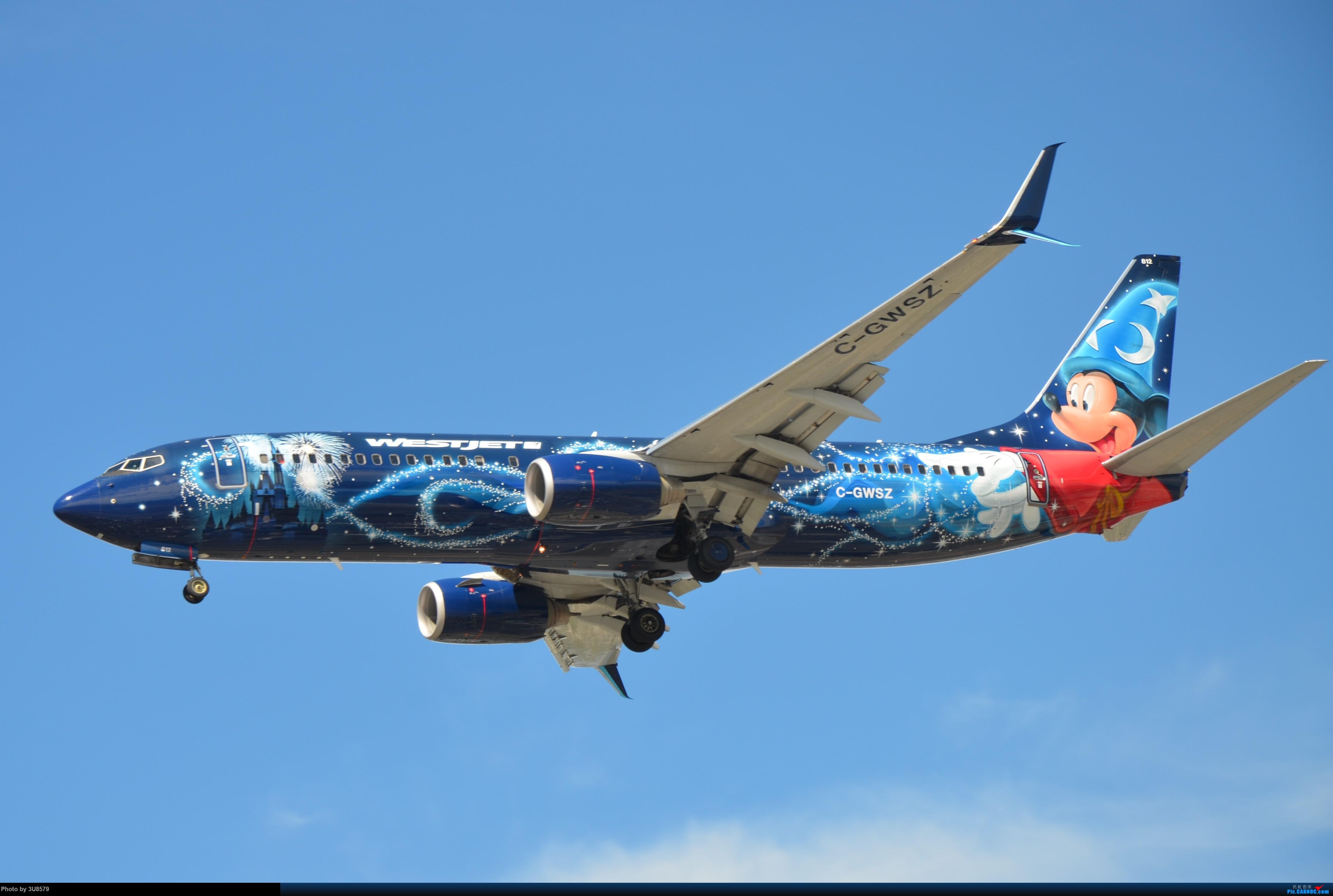 Re:[原创]YVR温哥华拍机 BOEING 737-800 C-GWSZ 加拿大温哥华机场