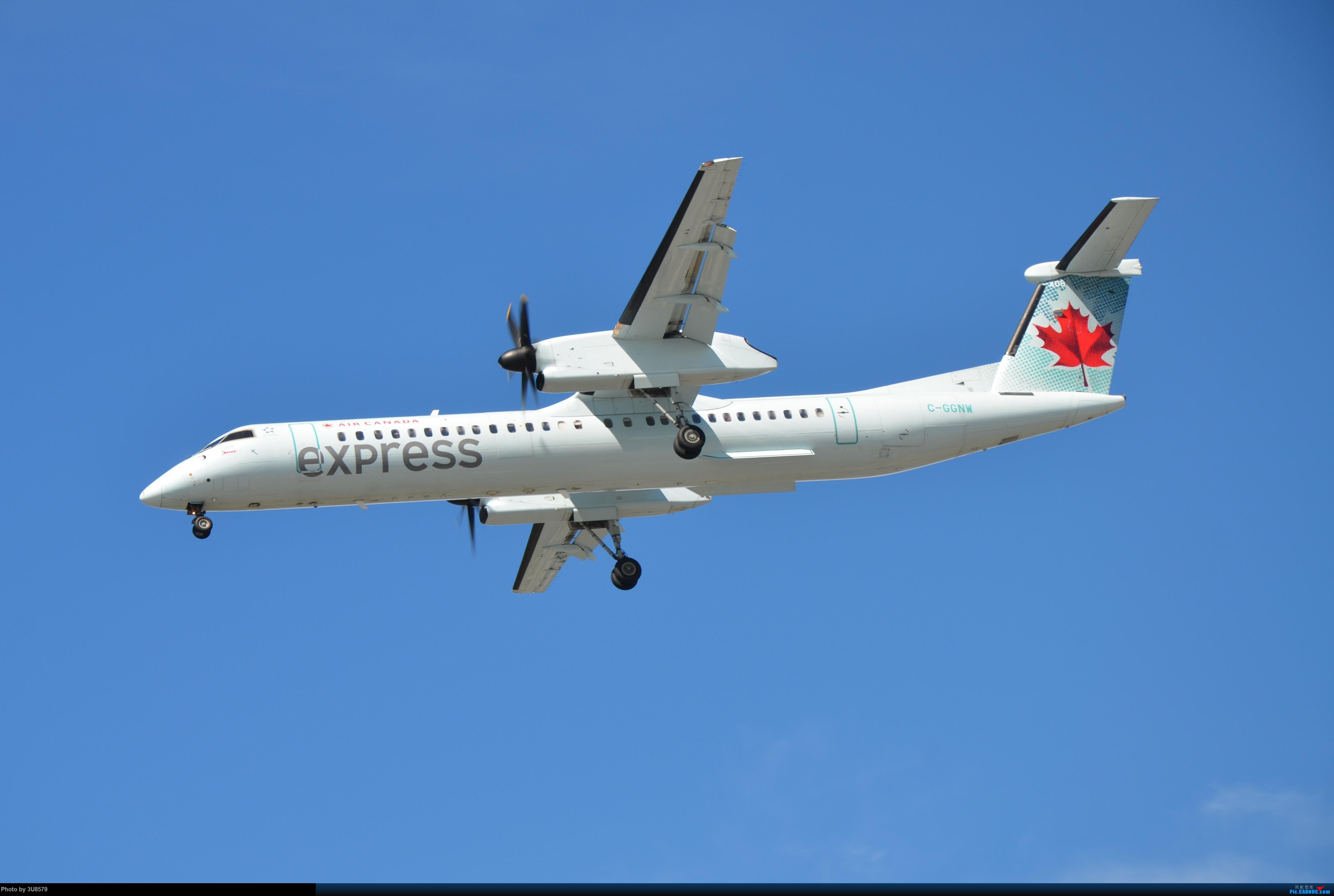 Re:[原创]YVR温哥华拍机 Q400 C-GGNW 加拿大温哥华机场