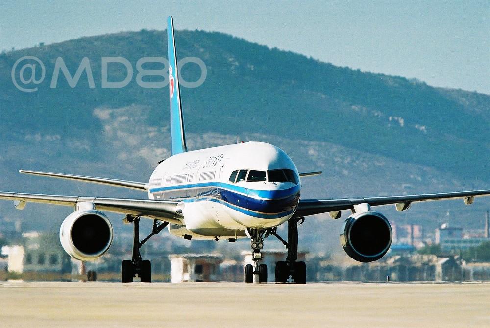 [原创][DLC内场]告别757 BOEING 757-200  中国大连国际机场