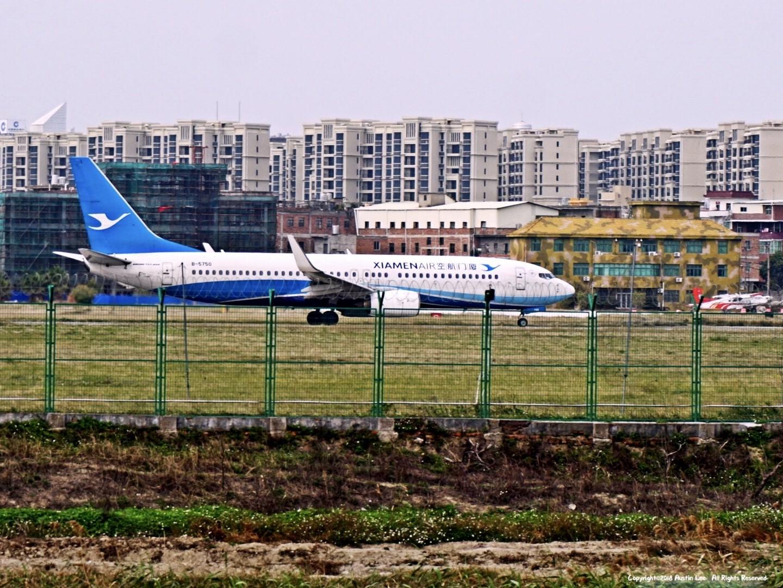 Re:[原创]【JJN】第一次外场拍终于如愿·Feb20th~ BOEING 737-85C(WL) B-5750 中国泉州晋江国际机场