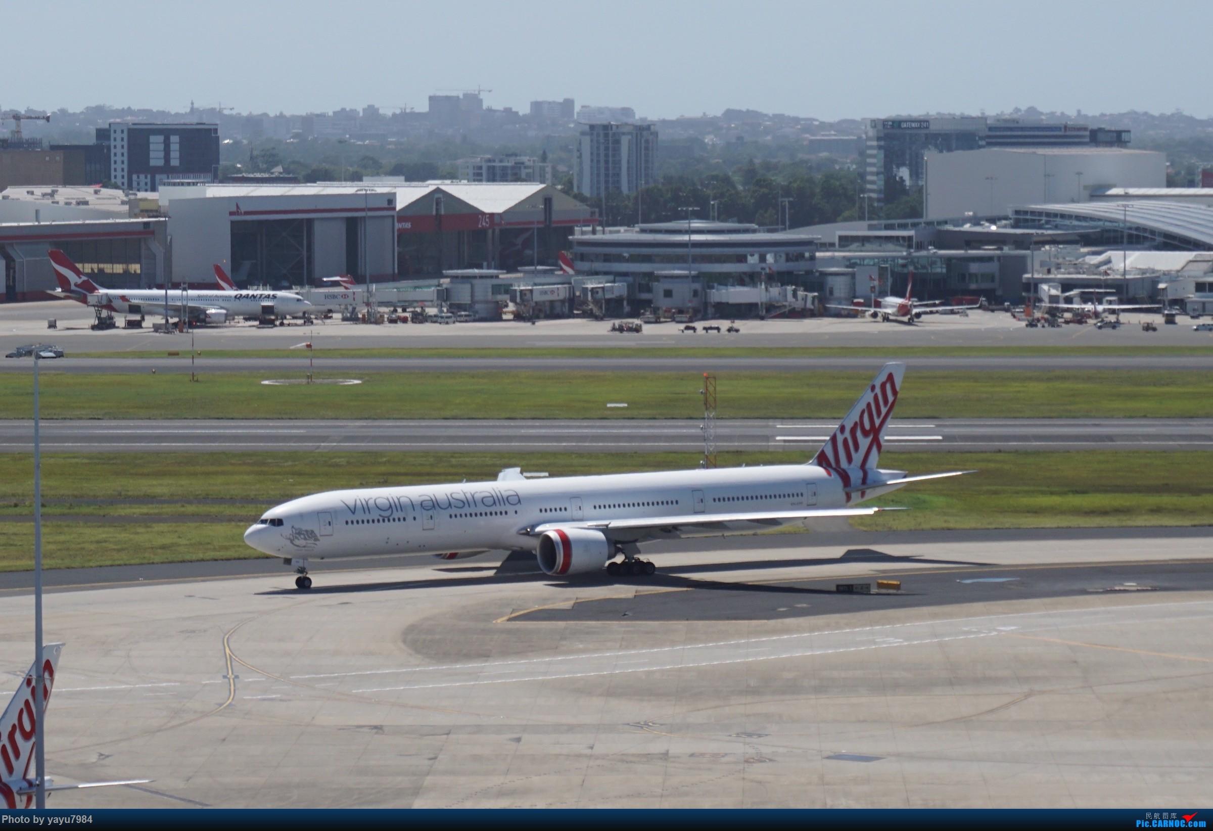 Re:[原创][SYD] 停车楼顶看宽体 BOEING 777-300ER VH-VPF 澳大利亚悉尼金斯福德·史密斯机场