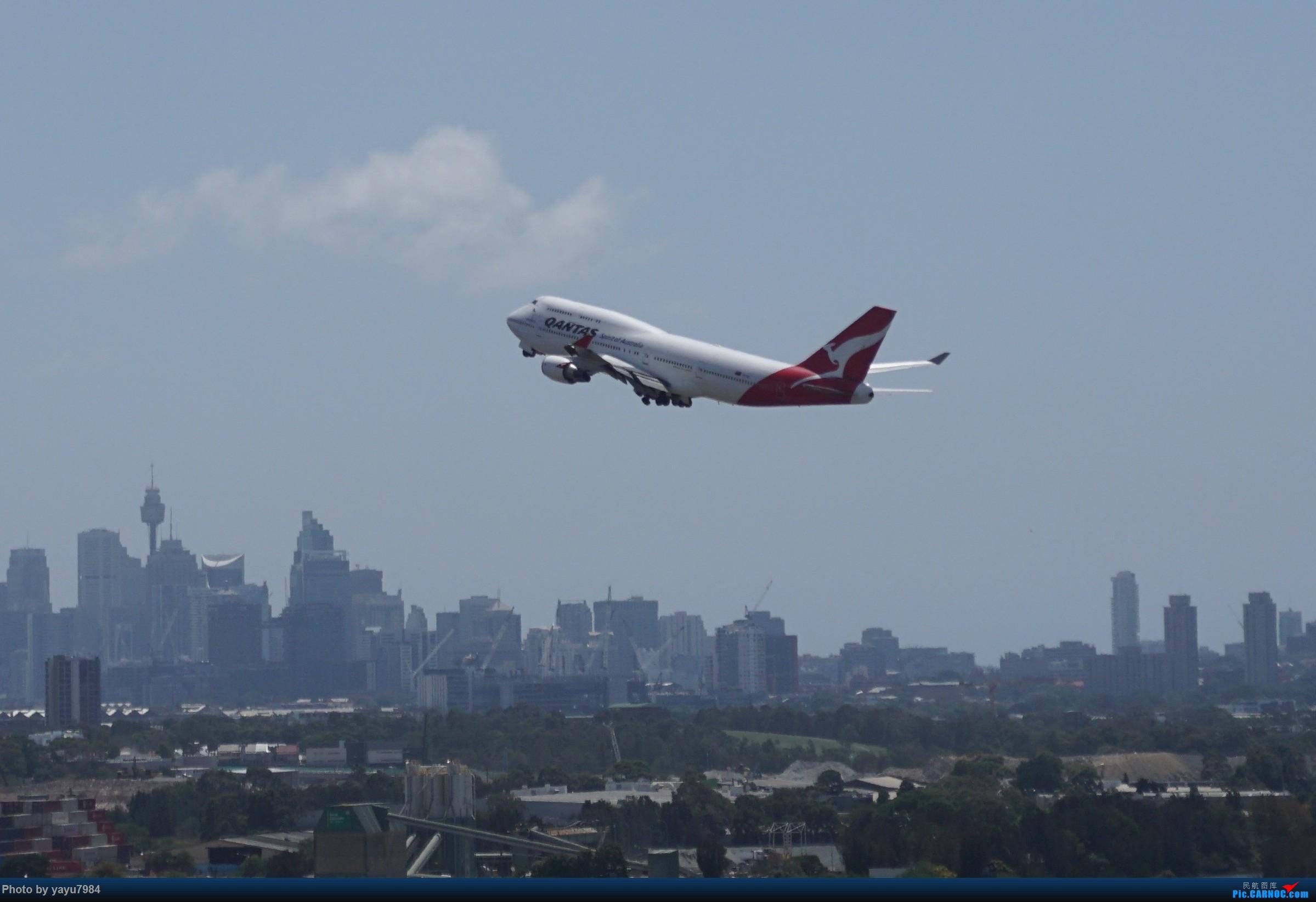 Re:[原创][SYD] 停车楼顶看宽体 BOEING 747-400ER VH-OEJ 澳大利亚悉尼金斯福德·史密斯机场