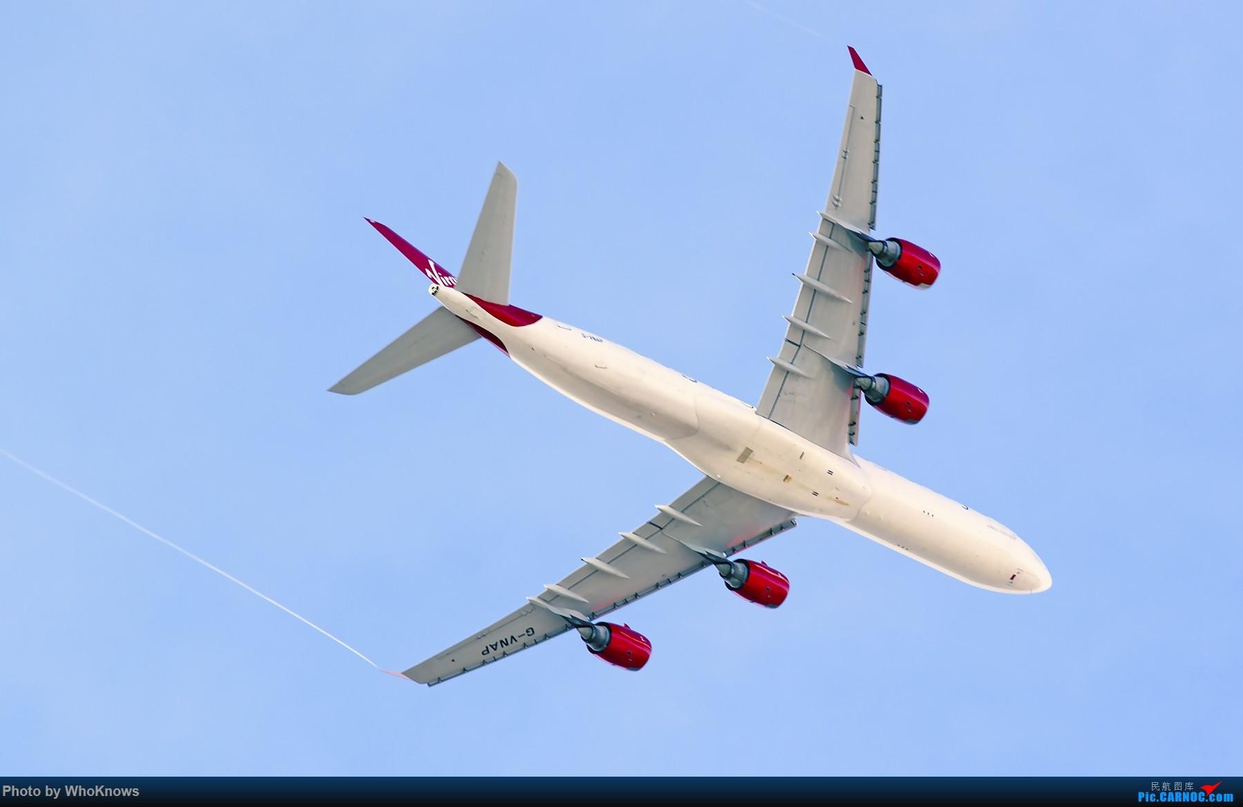 [原创]JFK雪过天晴 AIRBUS A340-600 G-VNAP 美国纽约约翰·菲茨杰拉德·肯尼迪国际机场