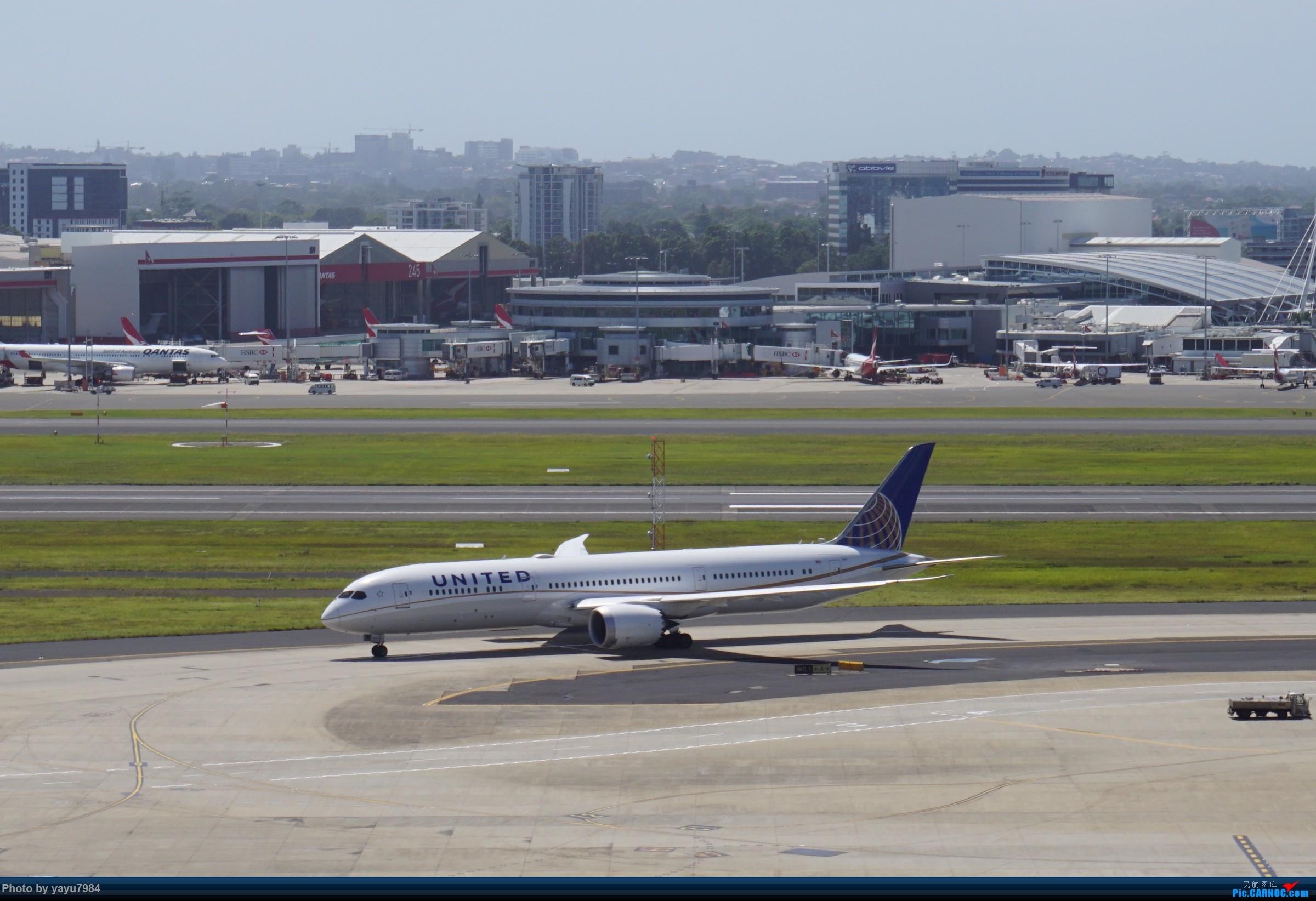 Re:[原创][SYD] 停车楼顶看宽体 BOEING 787-9 N29961 澳大利亚悉尼金斯福德·史密斯机场