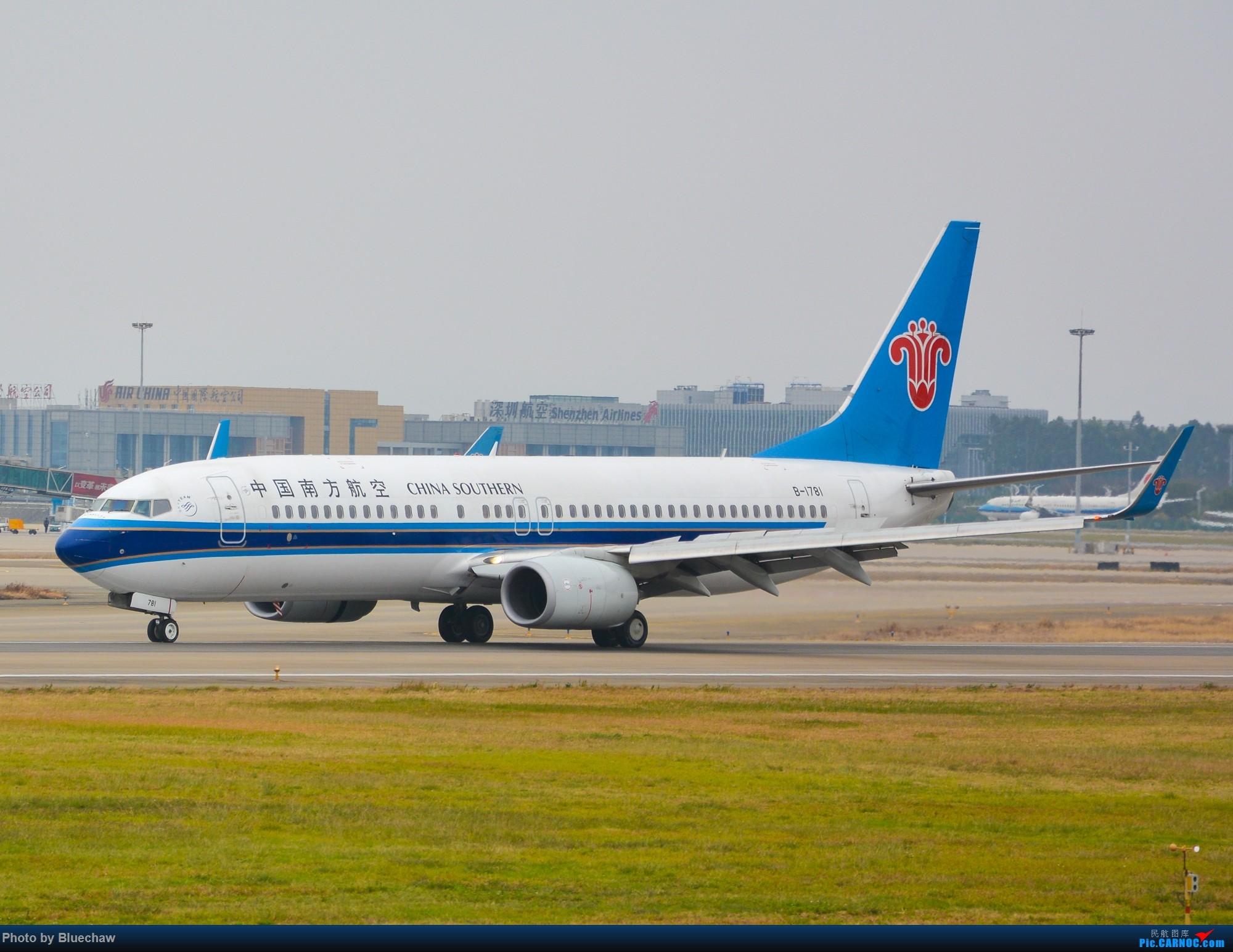 Re:[原创]新人第二贴,白云烂天拍机 BOEING 737-800 B-1781 中国广州白云国际机场