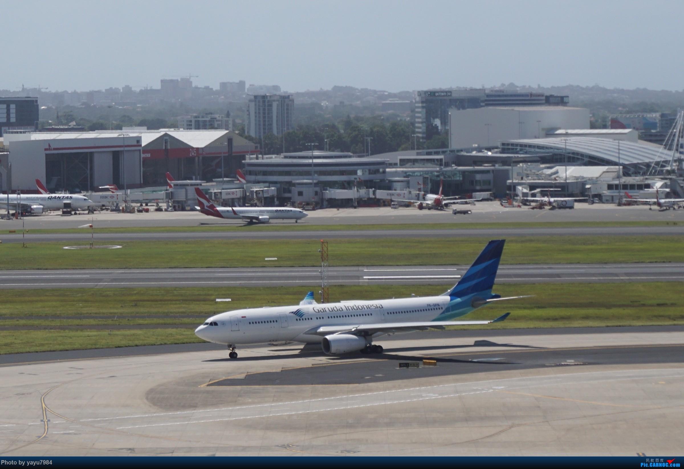 Re:[原创][SYD] 停车楼顶看宽体 AIRBUS A330-200 PK-GPN 澳大利亚悉尼金斯福德·史密斯机场