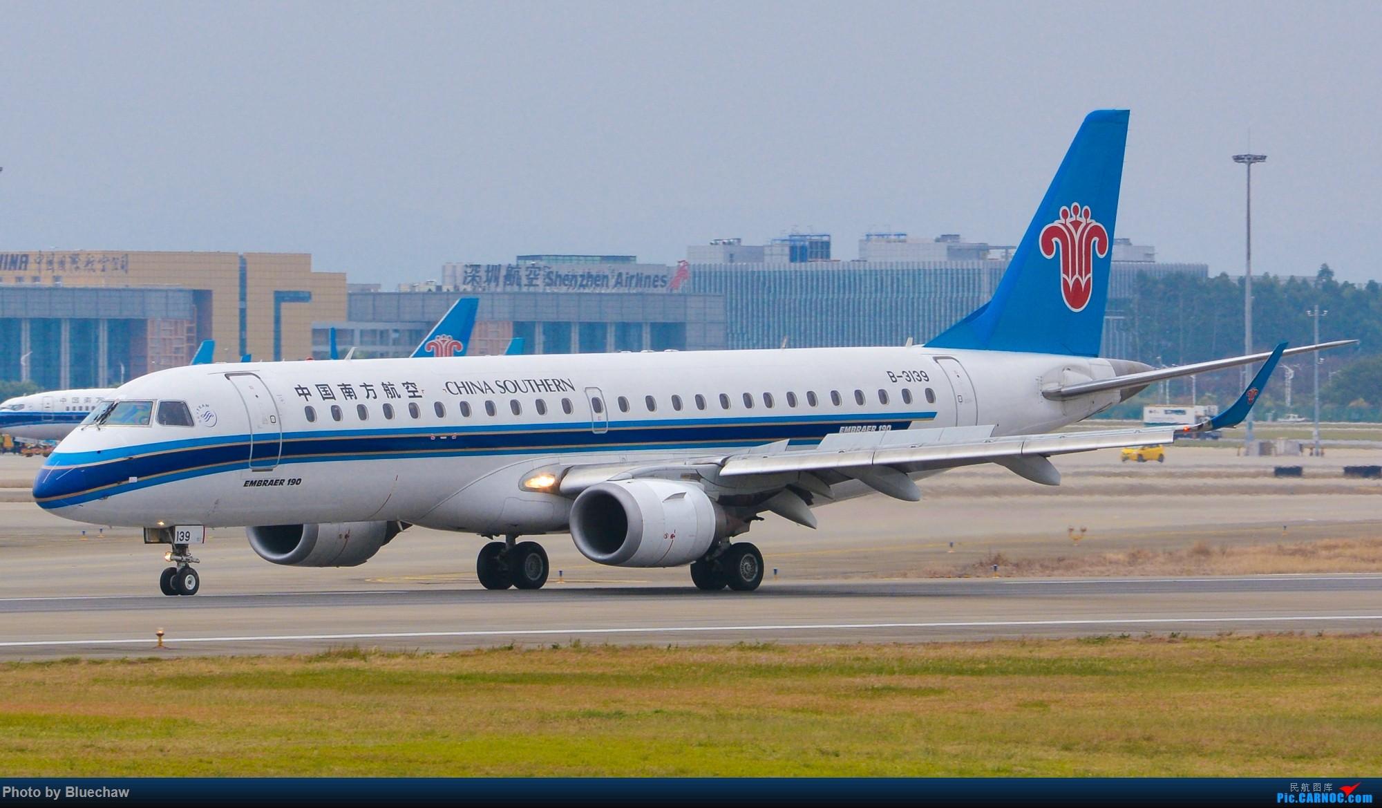 Re:[原创]新人第二贴,白云烂天拍机 EMBRAER E-190 B-3139 中国广州白云国际机场