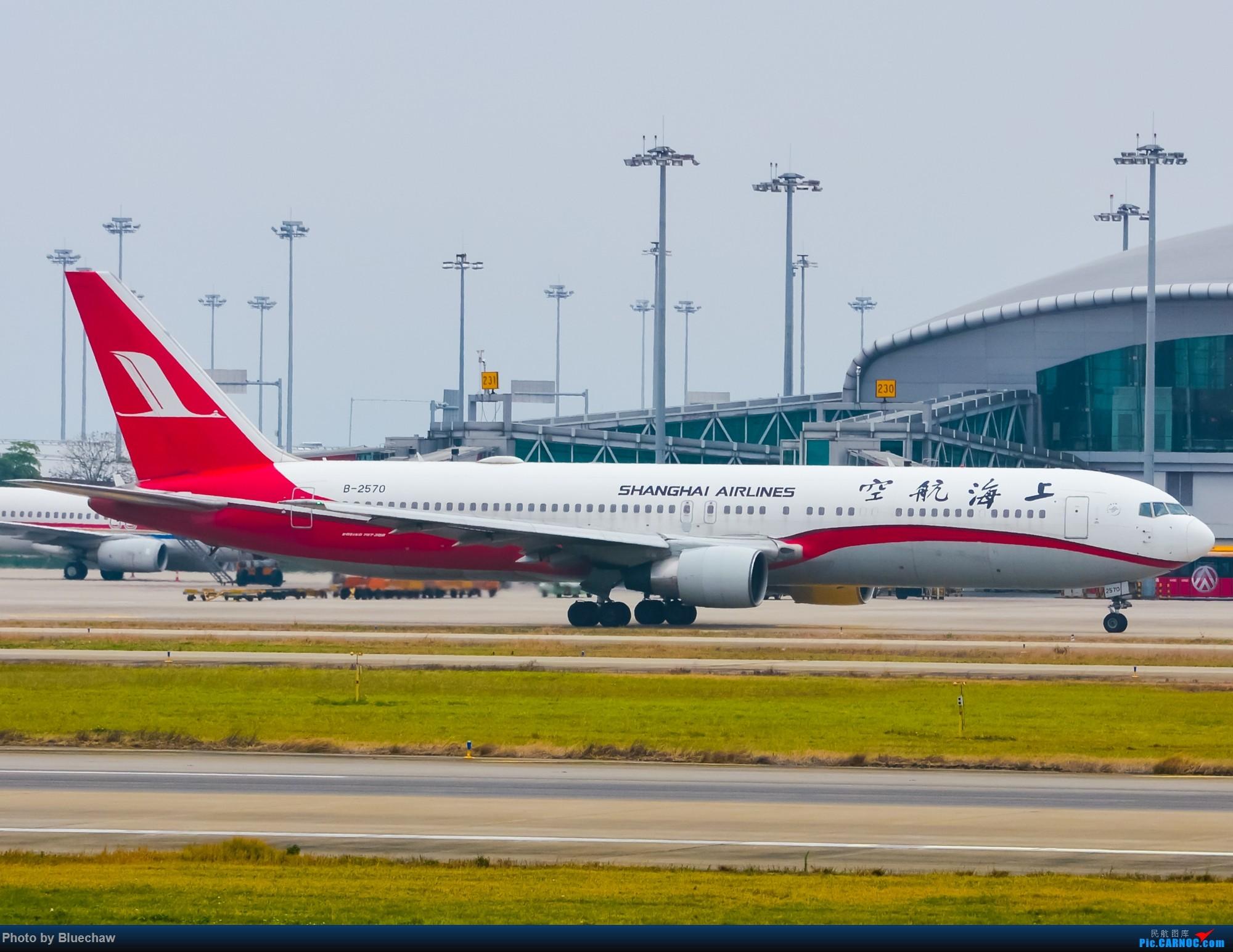 Re:[原创]新人第二贴,白云烂天拍机 BOEING 767-300 B-2570 中国广州白云国际机场
