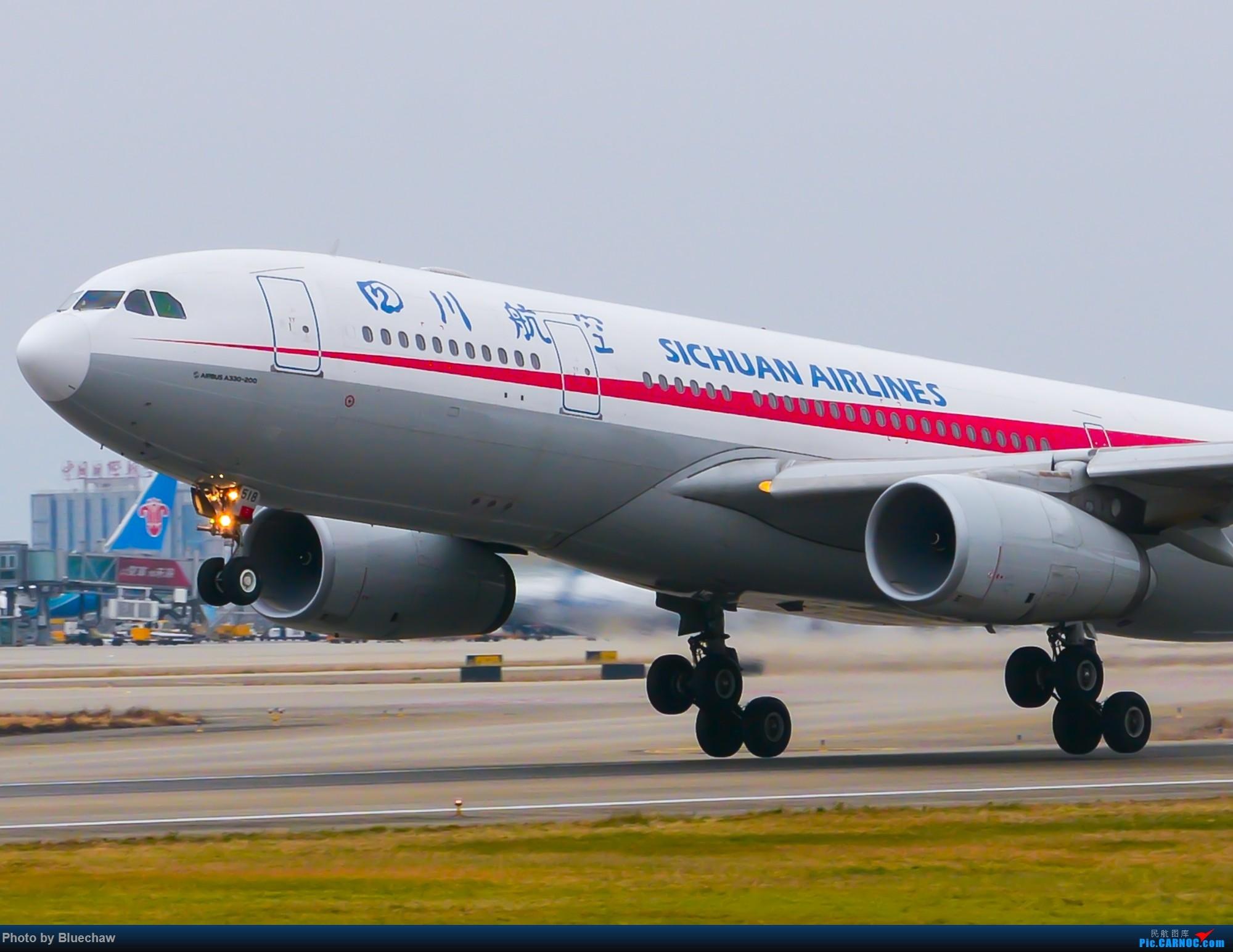 Re:[原创]新人第二贴,白云烂天拍机 AIRBUS A330-200 B-6518 中国广州白云国际机场