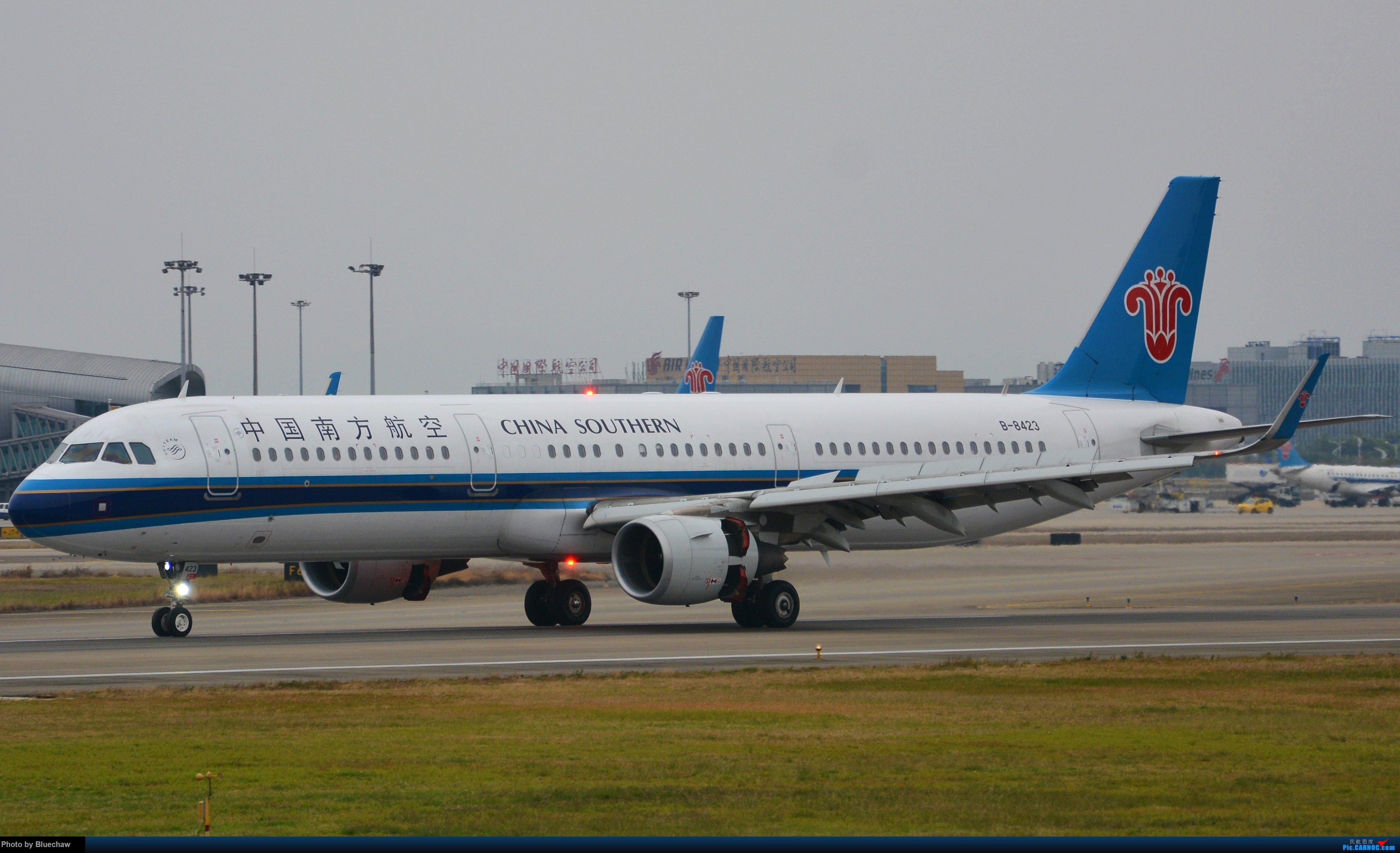 Re:[原创]新人第二贴,白云烂天拍机 AIRBUS A321-200 B-8423 中国广州白云国际机场