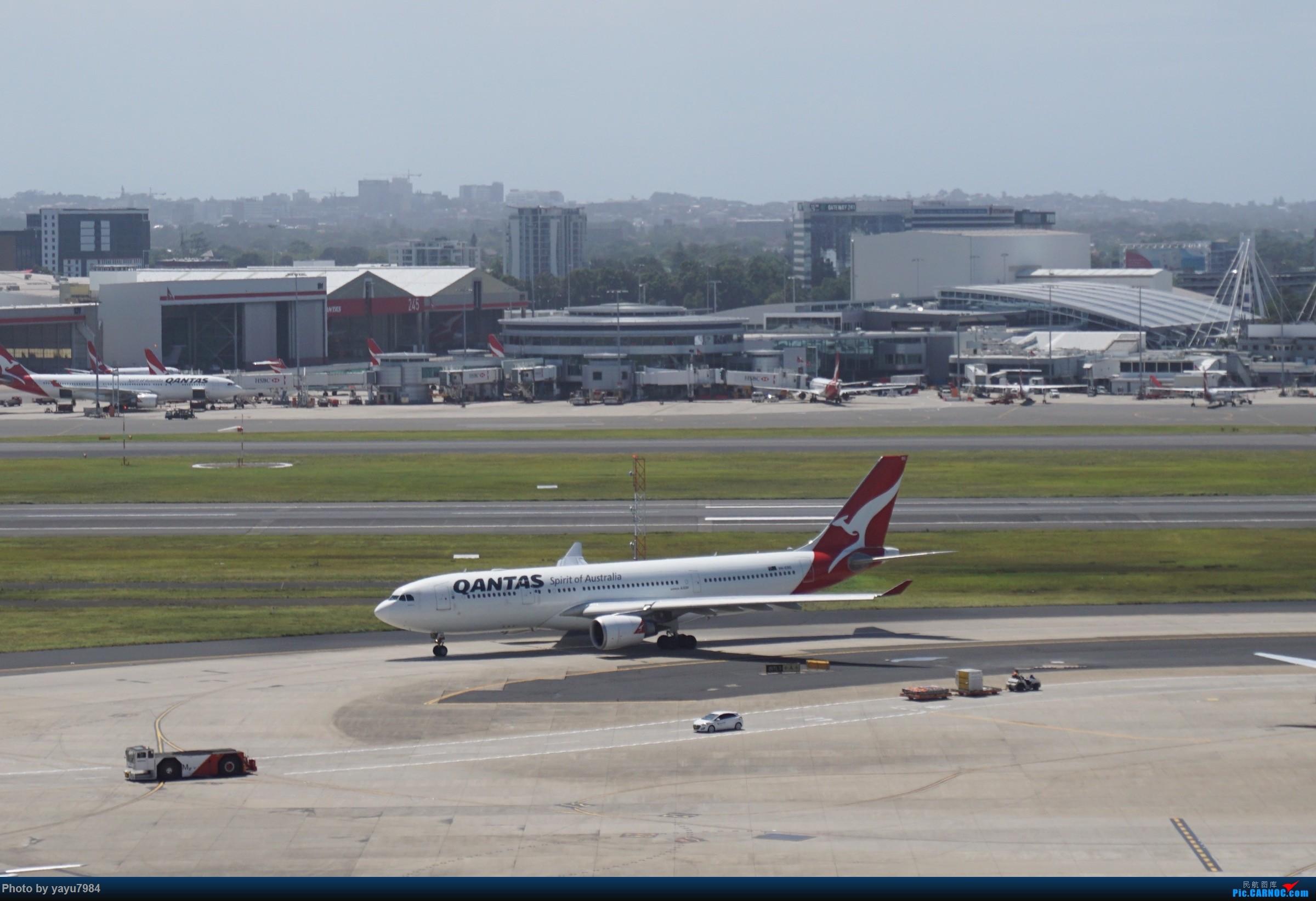 Re:[原创][SYD] 停车楼顶看宽体 AIRBUS A330-200 VH-EBO 澳大利亚悉尼金斯福德·史密斯机场