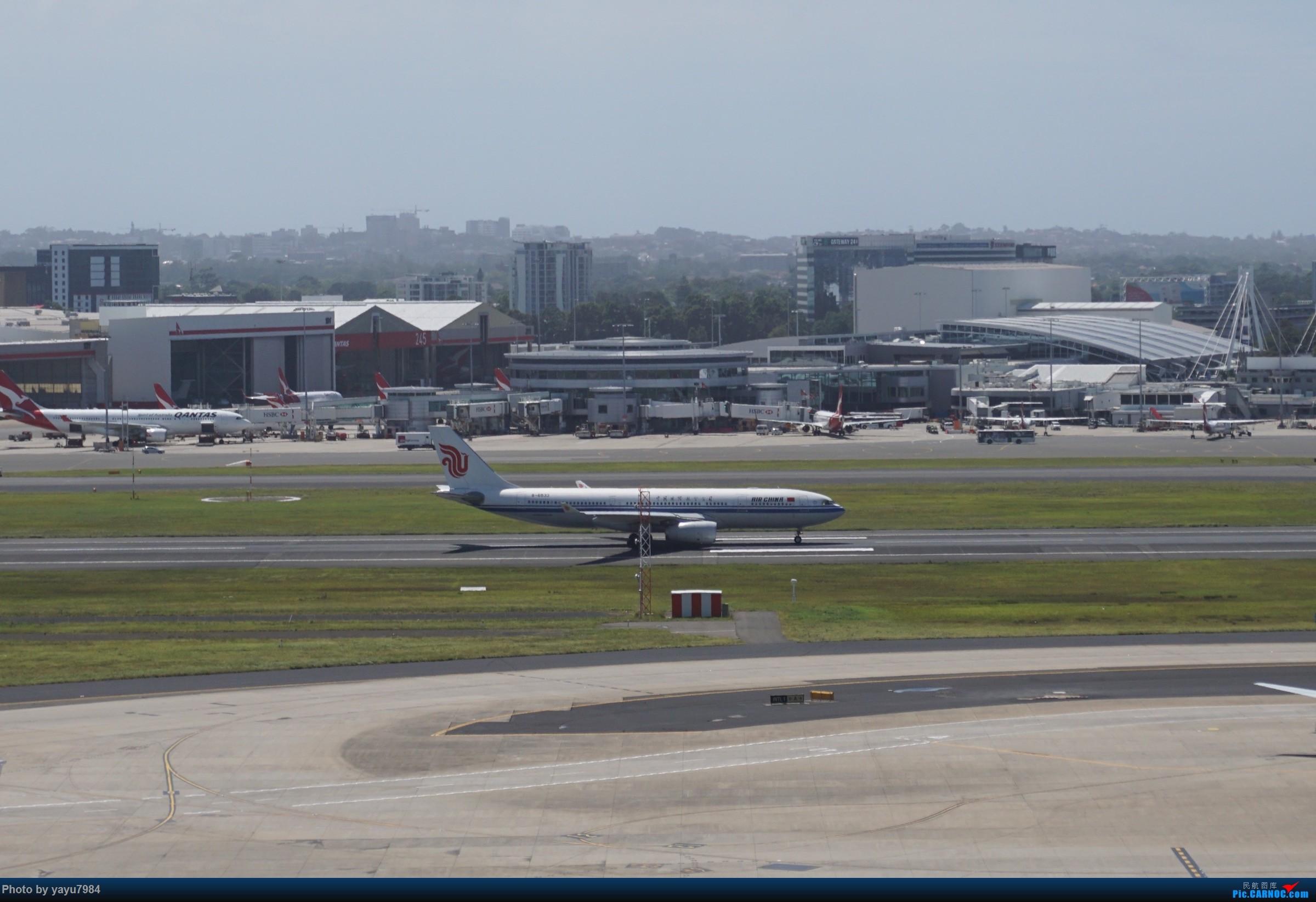 Re:[原创][SYD] 停车楼顶看宽体 AIRBUS A330-200 B-6533 澳大利亚悉尼金斯福德·史密斯机场