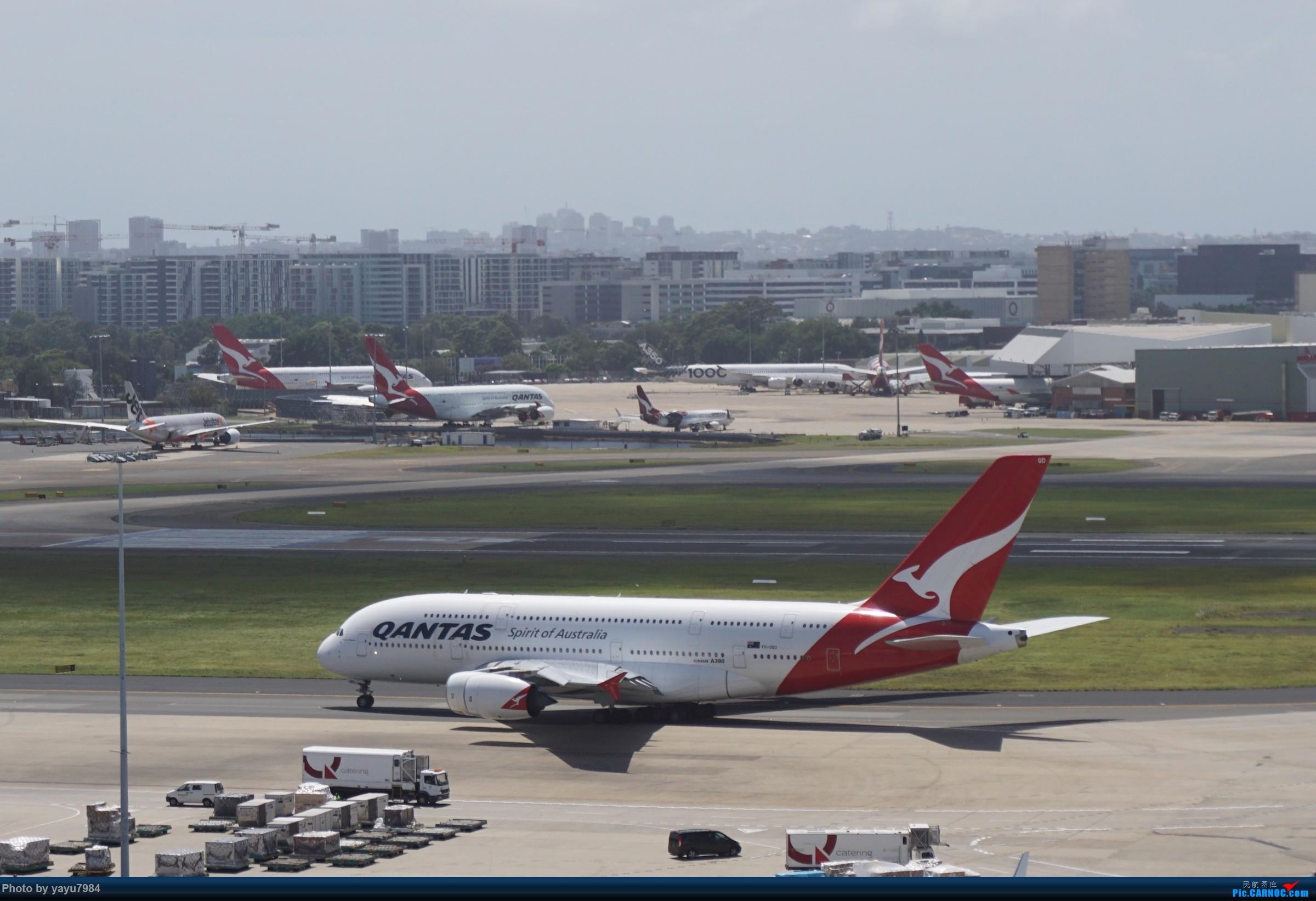 Re:[原创][SYD] 停车楼顶看宽体 AIRBUS A380 VH-OQD 澳大利亚悉尼金斯福德·史密斯机场