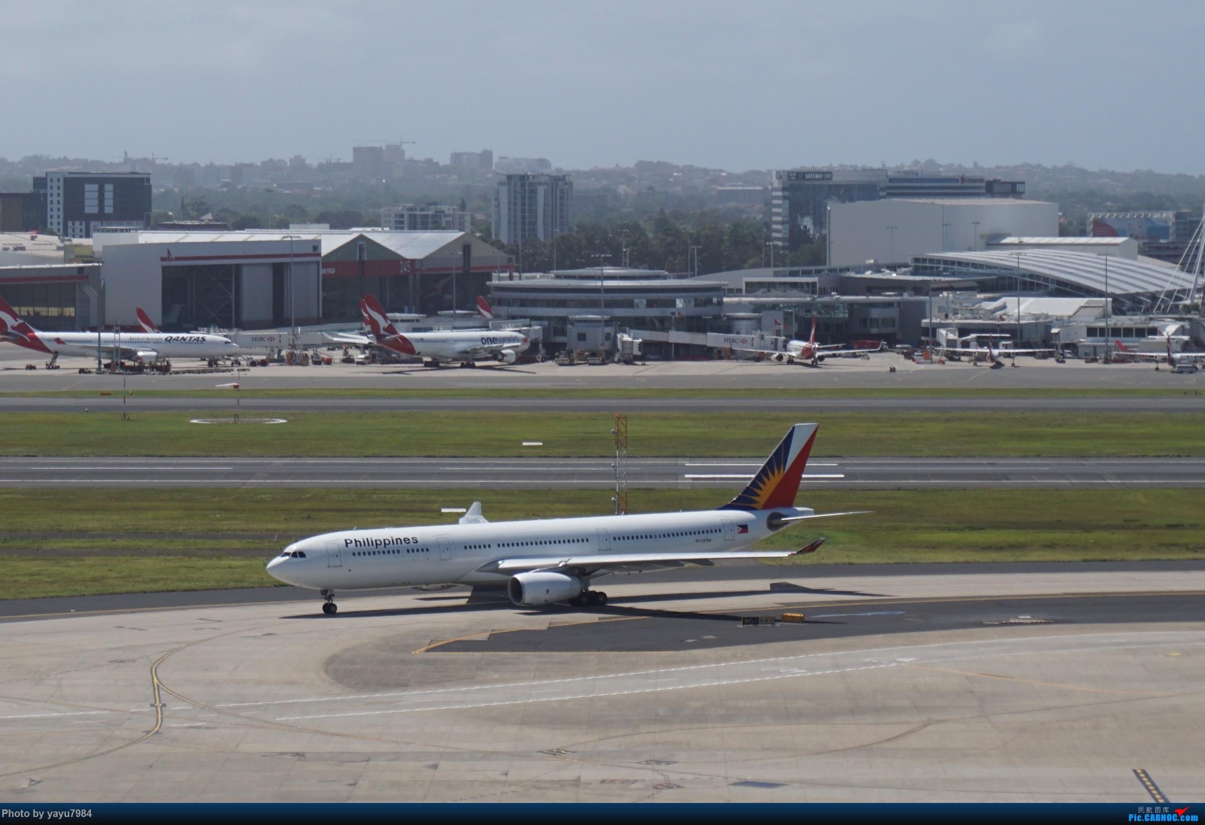 Re:[原创][SYD] 停车楼顶看宽体 AIRBUS A330-300 RP-C8784 澳大利亚悉尼金斯福德·史密斯机场