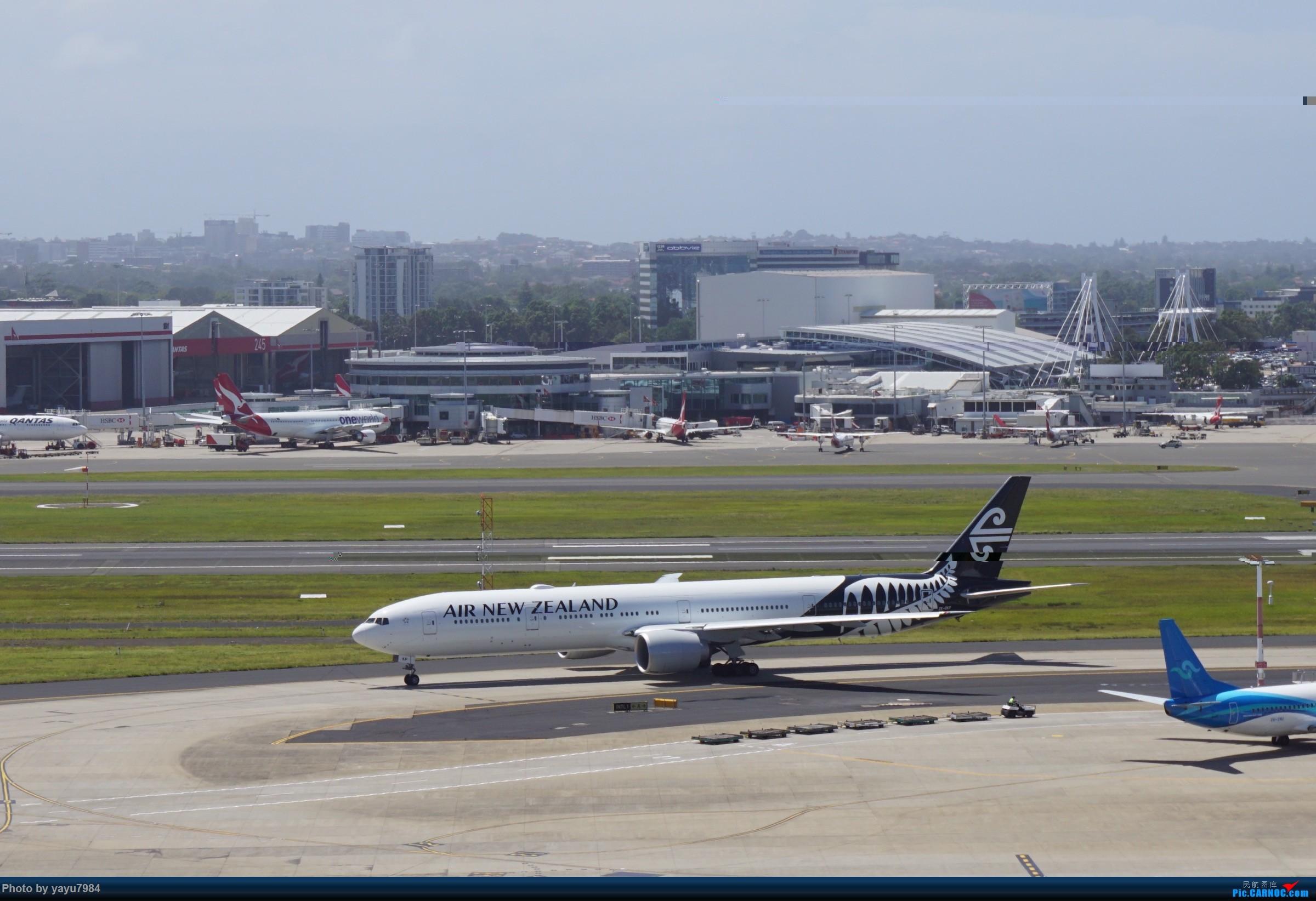 Re:[原创][SYD] 停车楼顶看宽体 BOEING 777-300ER ZK-OKP 澳大利亚悉尼金斯福德·史密斯机场