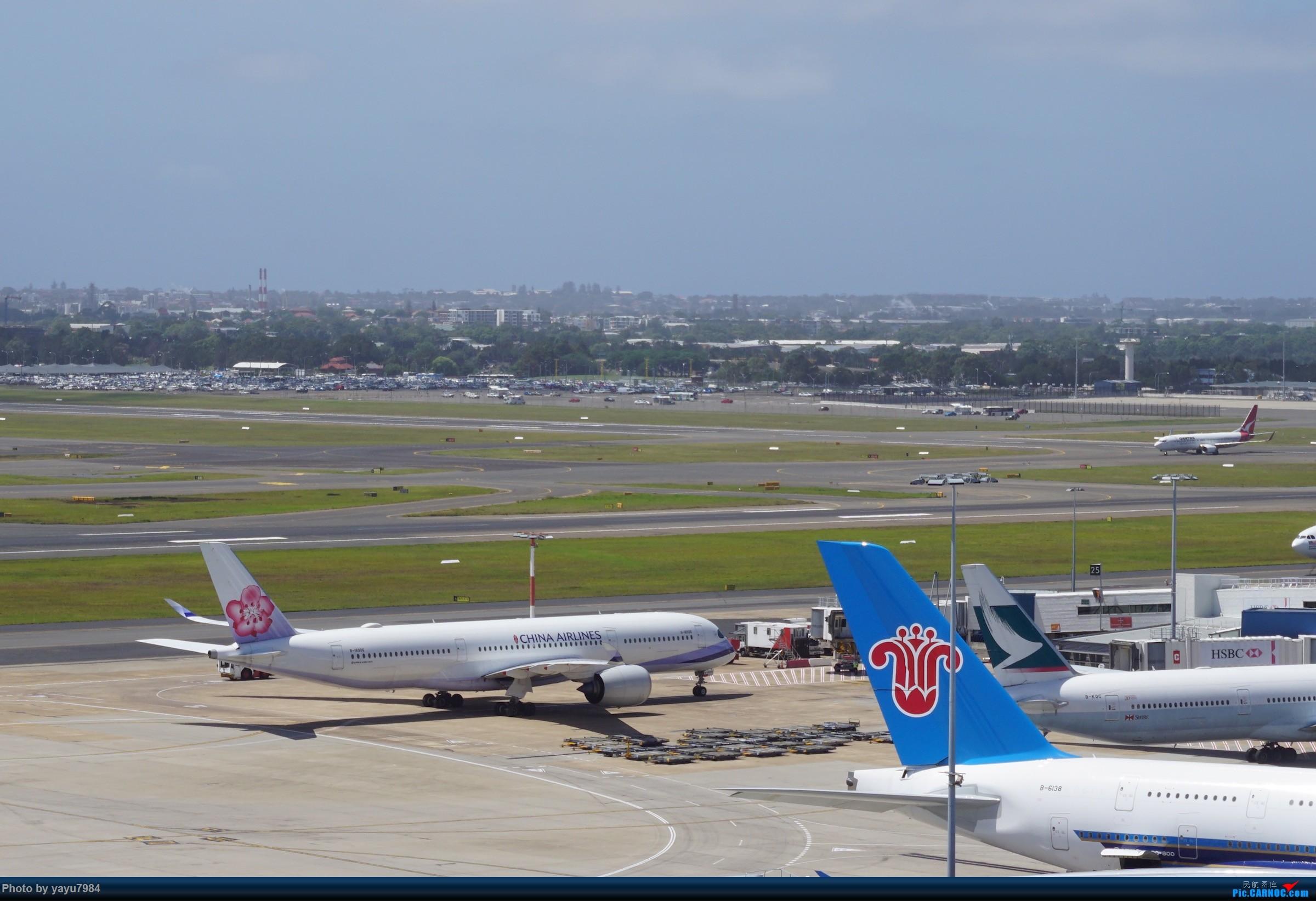 Re:[SYD] 停车楼顶看宽体 AIRBUS A350-900 B-18906 澳大利亚悉尼金斯福德·史密斯机场