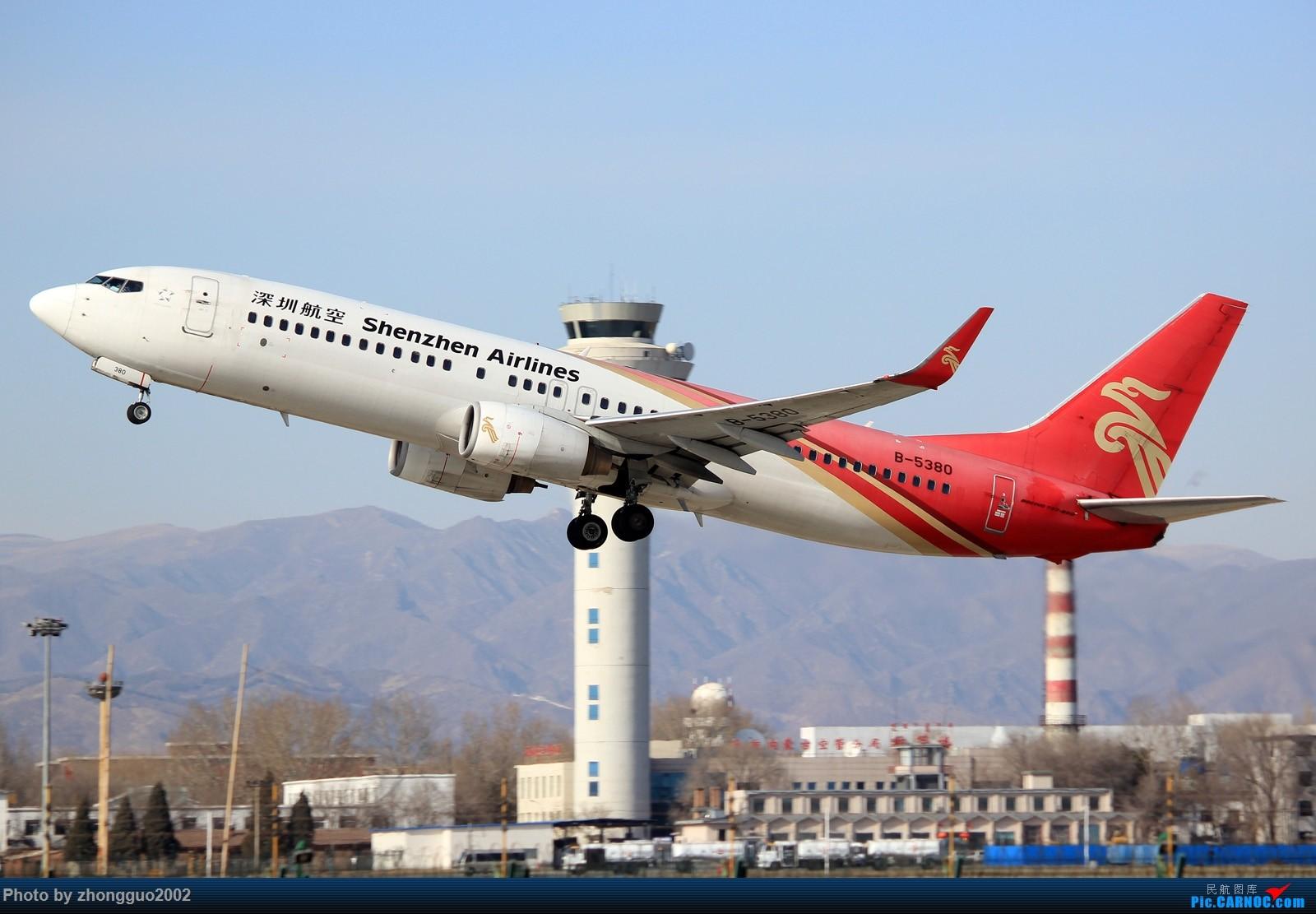 Re:[原创]久违---呼和浩特 BOEING 737-800 B-5380 中国呼和浩特白塔国际机场